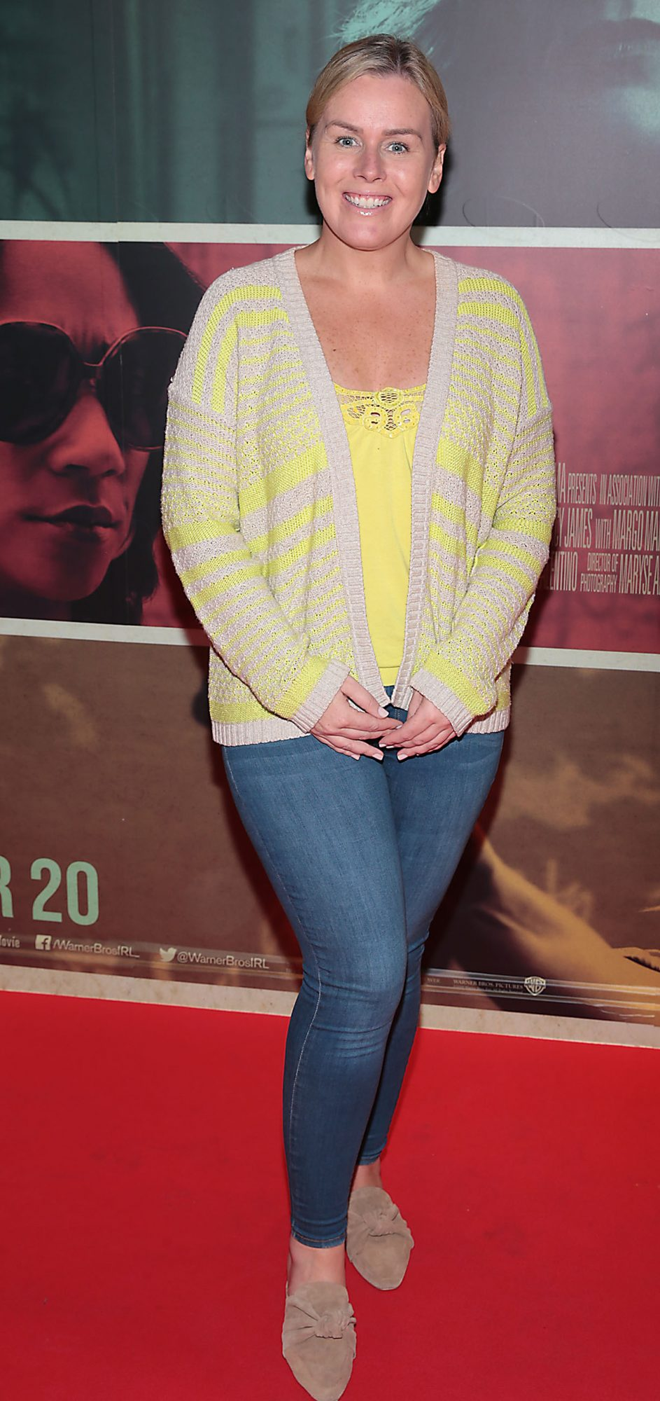 Caitriona o Connor at the special preview screening of The Kitchen at Cineworld, Dublin.  Picture: Brian McEvoy