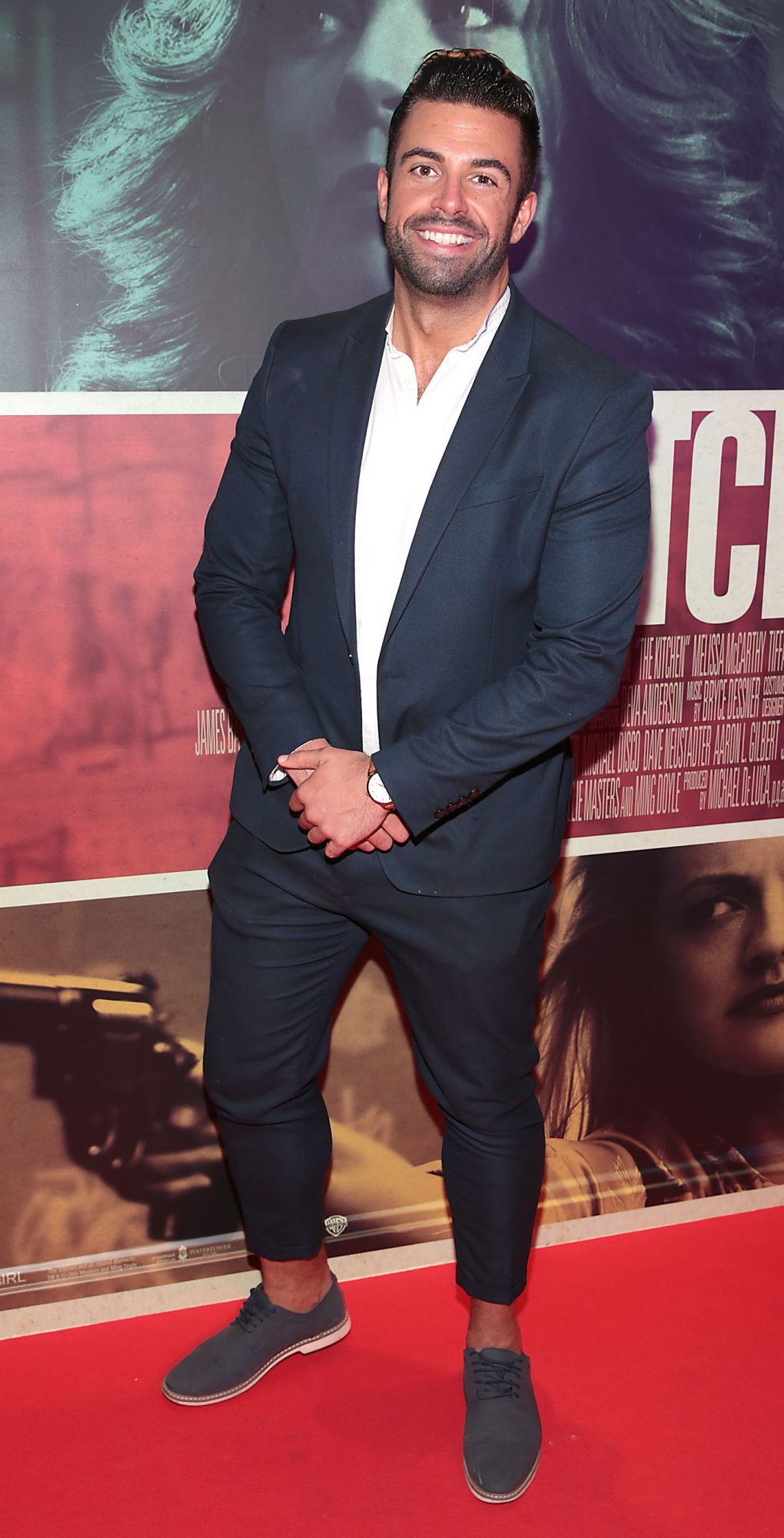 Karl Bowe at the special preview screening of The Kitchen at Cineworld, Dublin.  Picture: Brian McEvoy