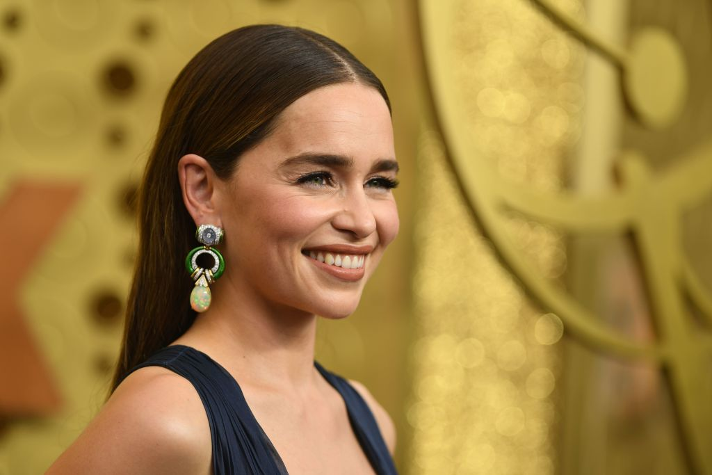 British actress Emilia Clarke arrives for the 71st Emmy Awards at the Microsoft Theatre in Los Angeles on September 22, 2019. (Photo: VALERIE MACON/AFP/Getty Images)