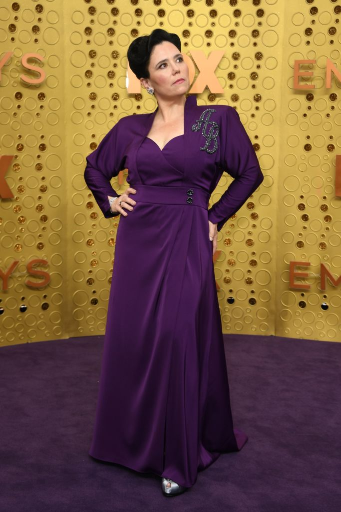 US actress Alex Borstein arrives for the 71st Emmy Awards at the Microsoft Theatre in Los Angeles on September 22, 2019. (Photo: VALERIE MACON/AFP/Getty Images)