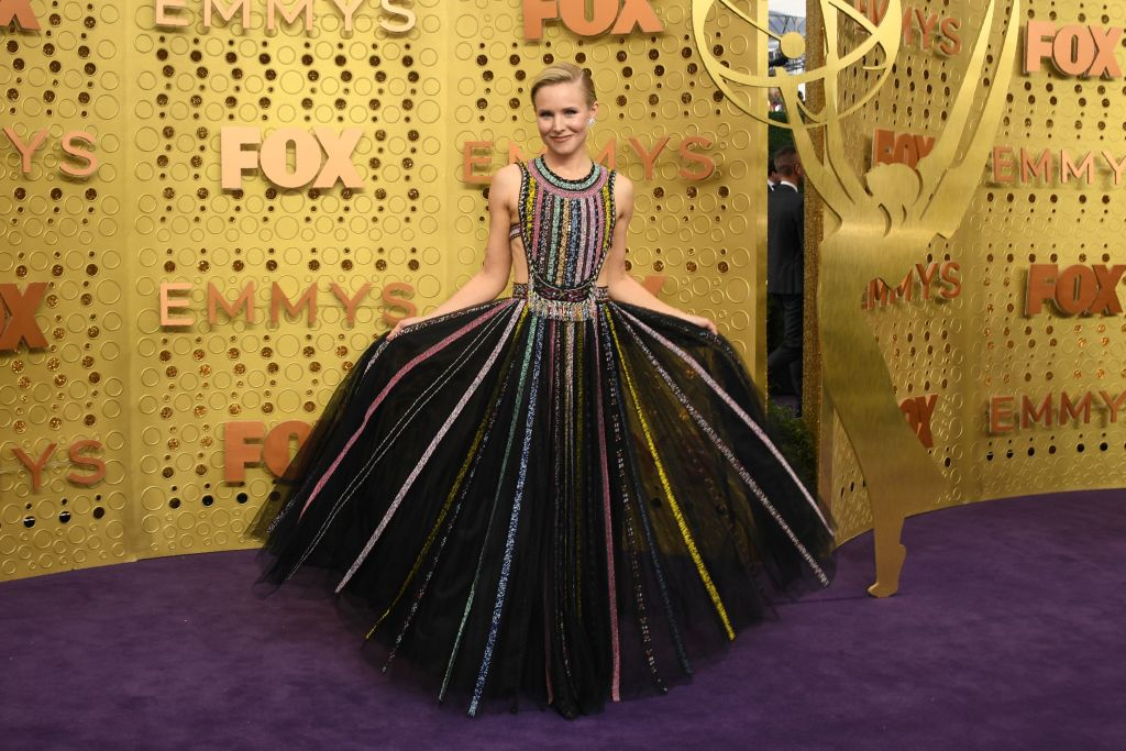 US actress Kristen Bell arrives for the 71st Emmy Awards at the Microsoft Theatre in Los Angeles on September 22, 2019. (Photo: VALERIE MACON/AFP/Getty Images)