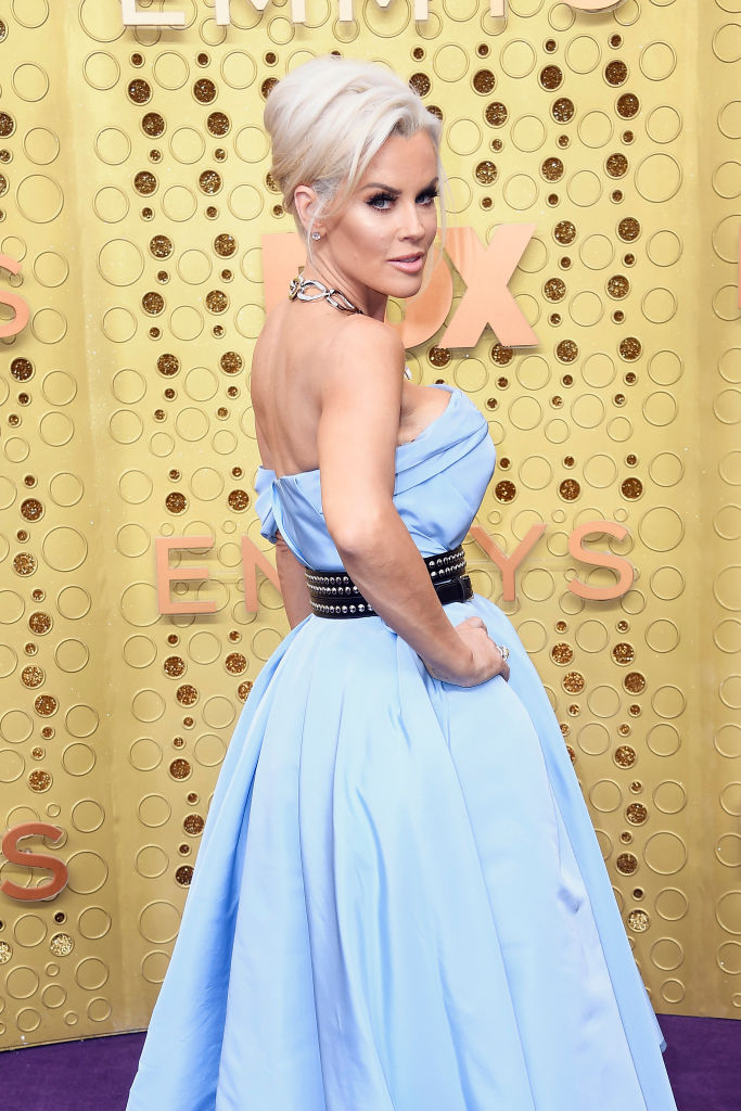 Jenny McCarthy attends the 71st Emmy Awards at Microsoft Theater on September 22, 2019 in Los Angeles, California. (Photo by Frazer Harrison/Getty Images)