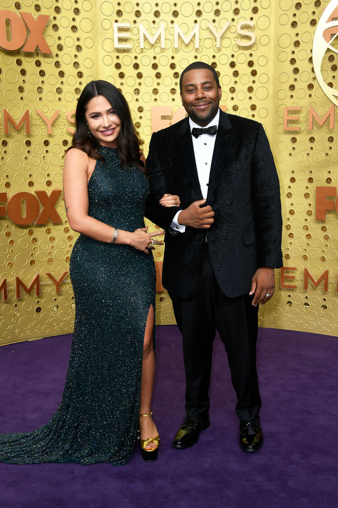 Christina Evangeline and Kenan Thompson attend the 71st Emmy Awards at Microsoft Theater on September 22, 2019 in Los Angeles, California. (Photo by Frazer Harrison/Getty Images)