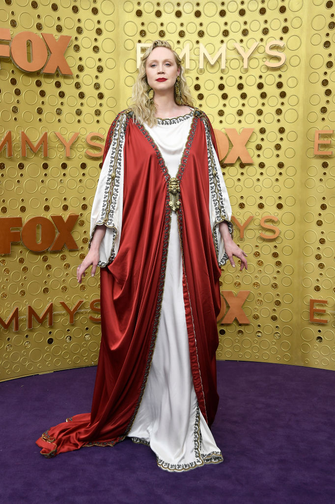 Gwendoline Christie attends the 71st Emmy Awards at Microsoft Theater on September 22, 2019 in Los Angeles, California. (Photo by Frazer Harrison/Getty Images)