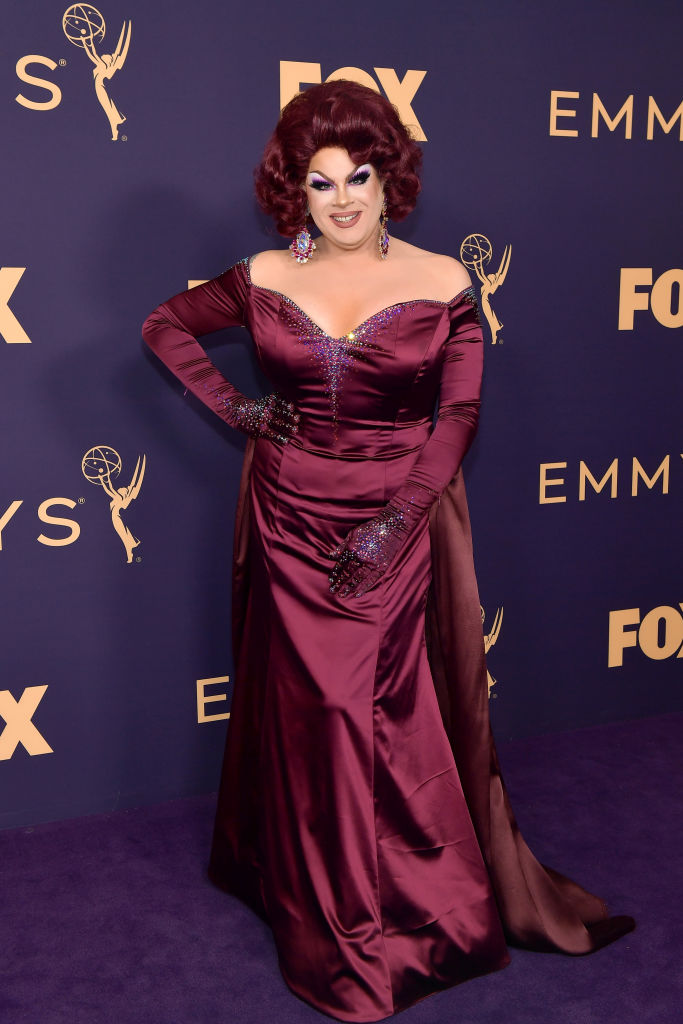 Nina West attends the 71st Emmy Awards at Microsoft Theater on September 22, 2019 in Los Angeles, California. (Photo by Matt Winkelmeyer/Getty Images)