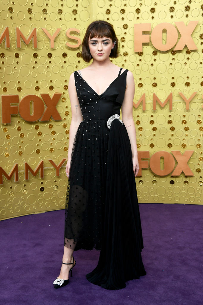 Maisie Williams attends the 71st Emmy Awards at Microsoft Theater on September 22, 2019 in Los Angeles, California. (Photo by Frazer Harrison/Getty Images)