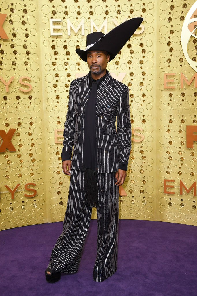 Billy Porter attends the 71st Emmy Awards at Microsoft Theater on September 22, 2019 in Los Angeles, California. (Photo by Frazer Harrison/Getty Images)