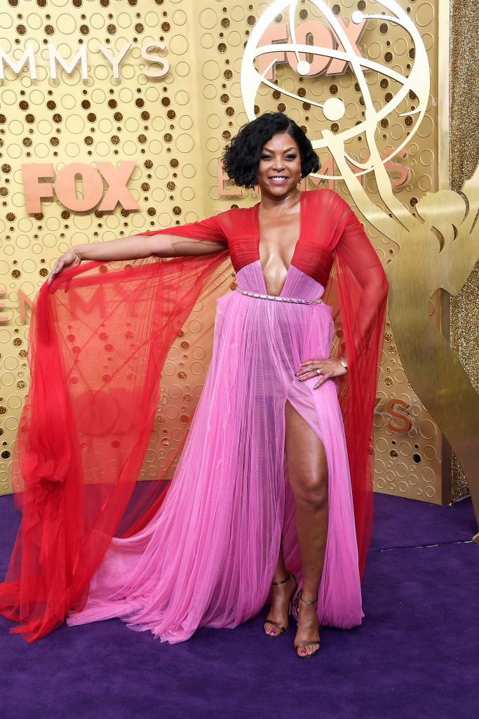 Taraji P. Henson attends the 71st Emmy Awards at Microsoft Theater on September 22, 2019 in Los Angeles, California. (Photo by Frazer Harrison/Getty Images)