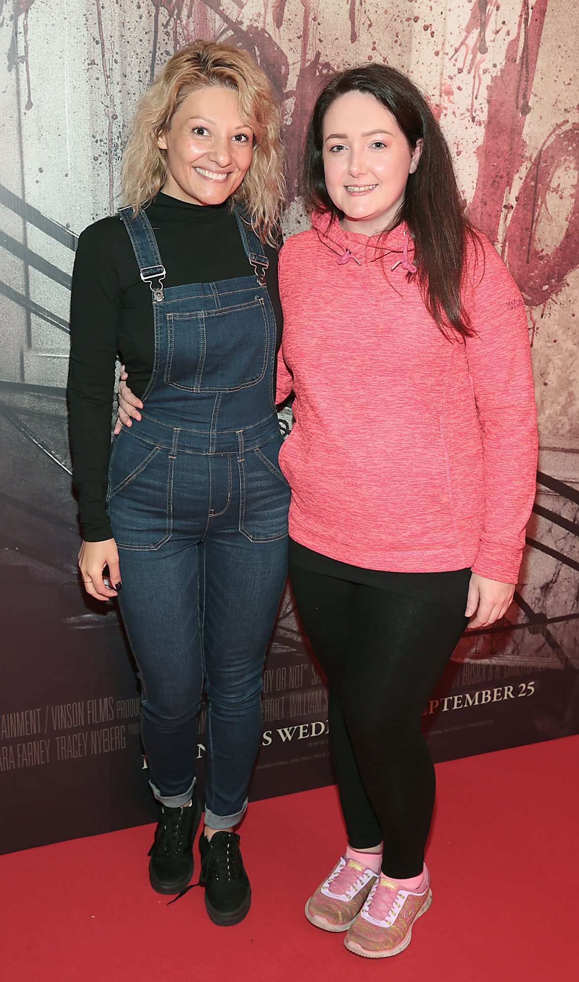 Esra Soruklo and Zenda Franklin pictured at the special preview screening of Ready or Not at the Lighthouse Cinema, Dublin. Pic: Brian McEvoy