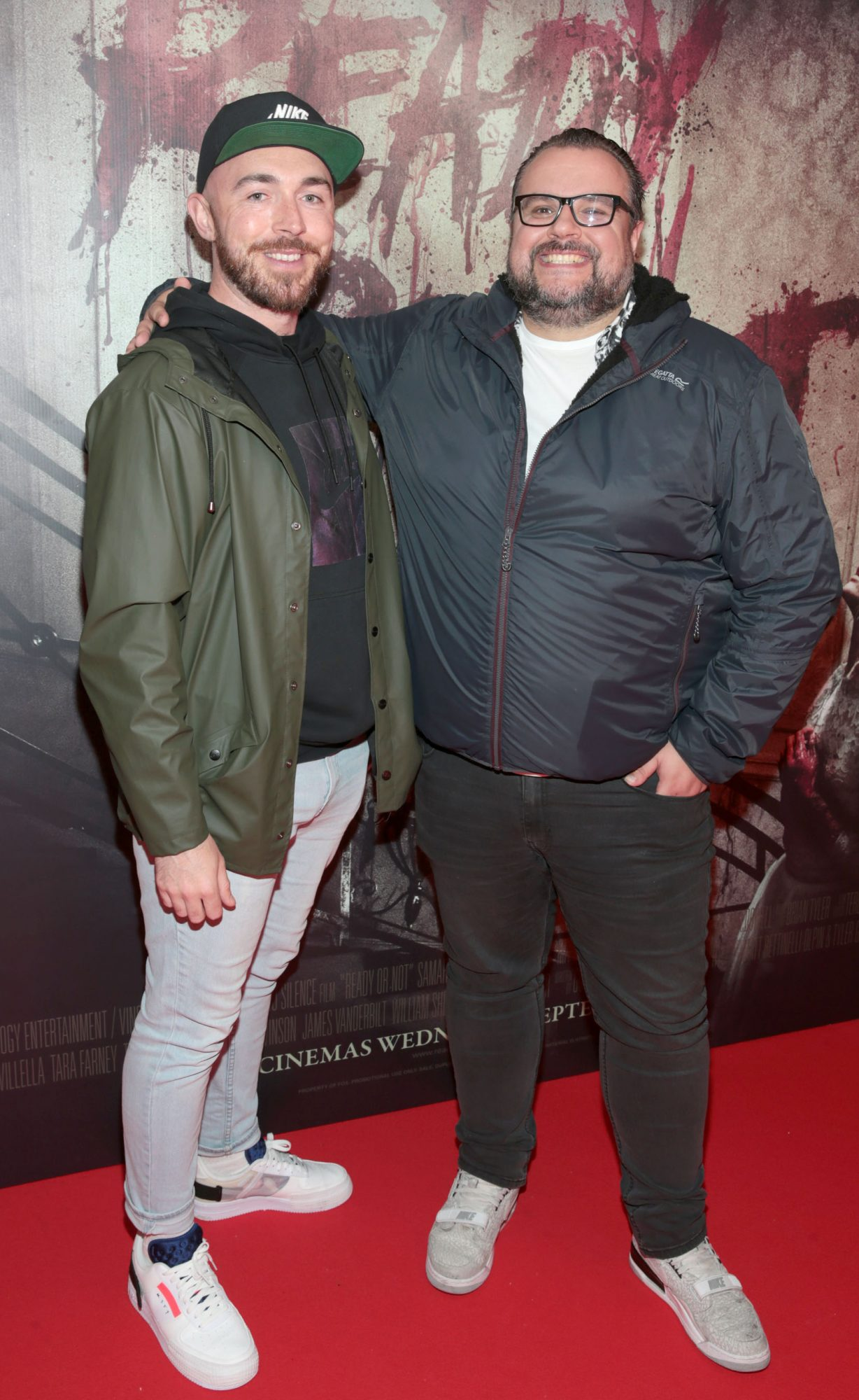 Dean Quigley and Rory Cashin pictured at the special preview screening of Ready or Not at the Lighthouse Cinema, Dublin. Pic: Brian McEvoy