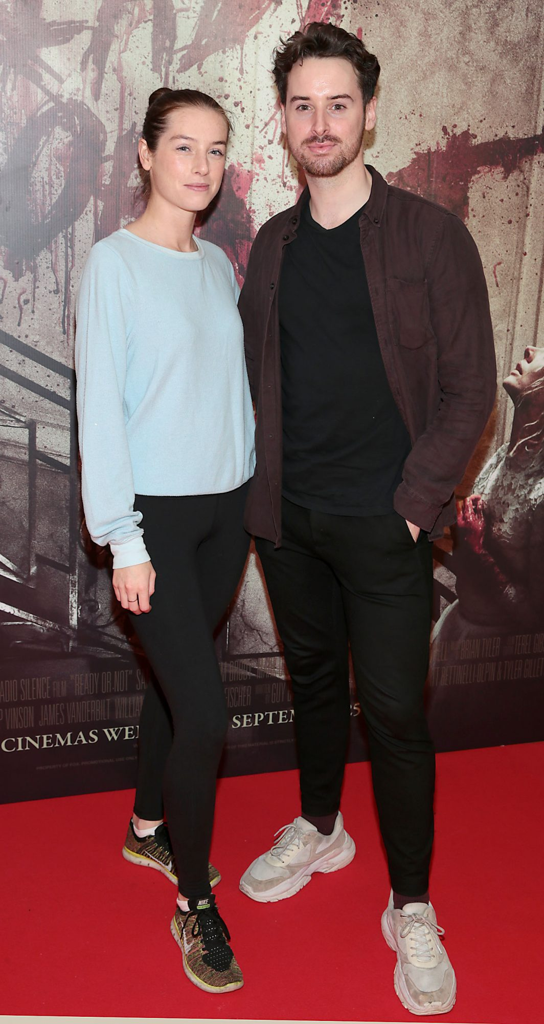 Odette Devereux and Brian Conway pictured at the special preview screening of Ready or Not at the Lighthouse Cinema, Dublin. Pic: Brian McEvoy