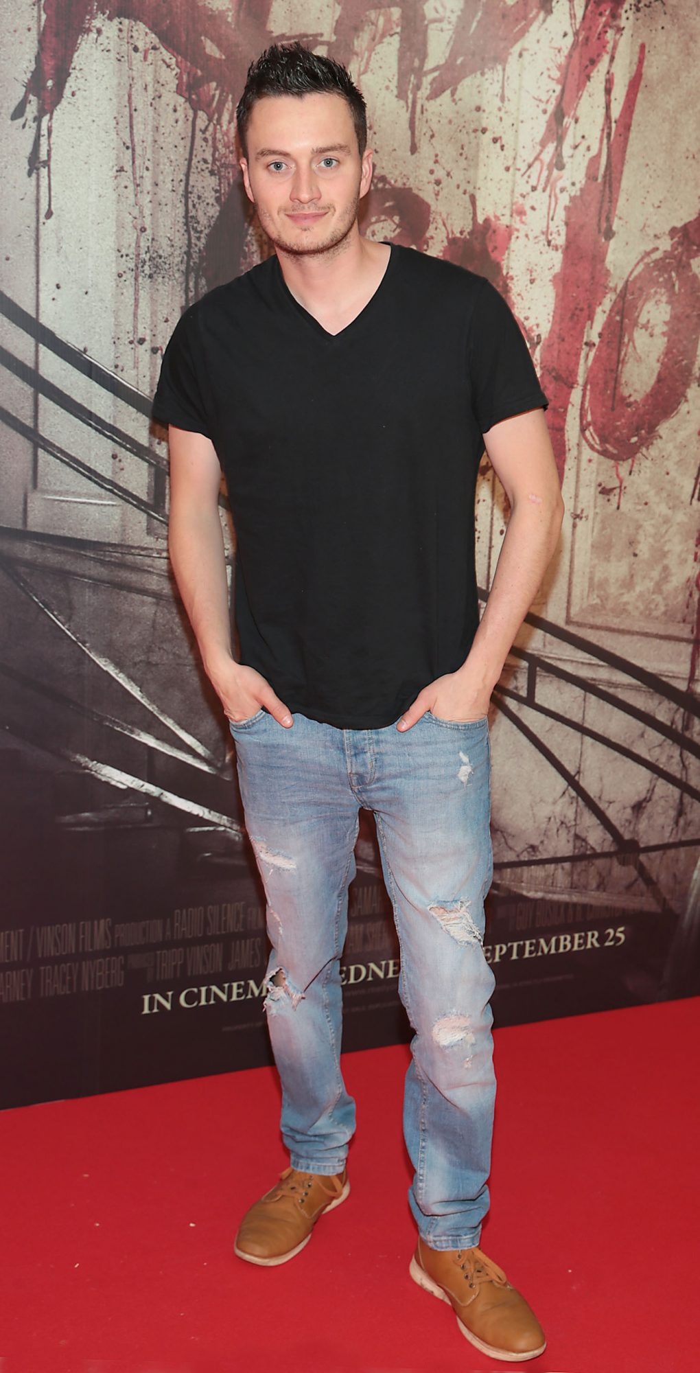 Robert Farragher pictured at the special preview screening of Ready or Not at the Lighthouse Cinema, Dublin. Pic: Brian McEvoy