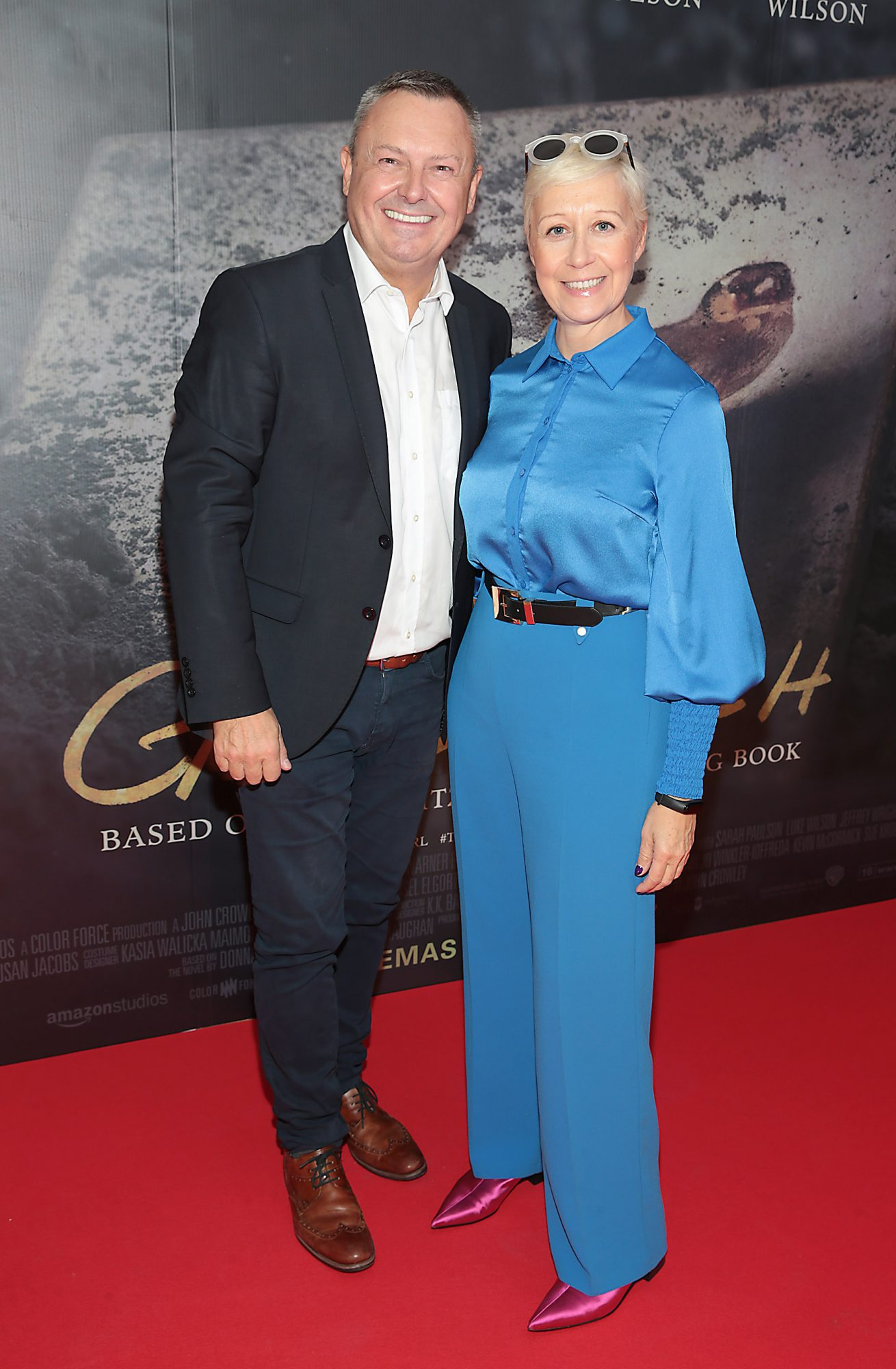 Ed Finn and Sonja Mohlich pictured at the Irish Premiere screening of The Goldfinch at the Lighthouse Cinema, Dublin.  Picture: Brian McEvoy.