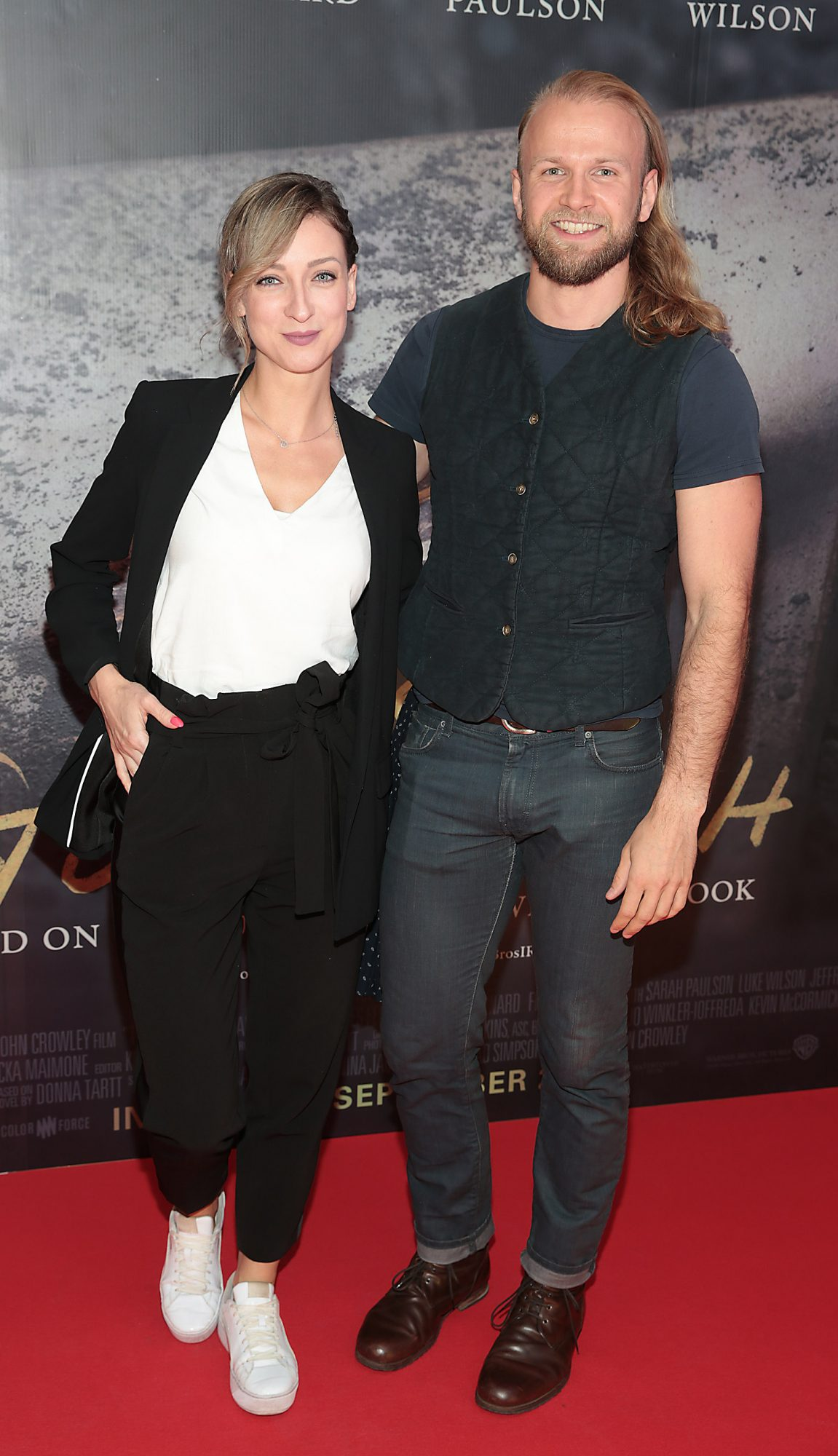Joanna Goch and Dmitry Vinokurov pictured at the Irish Premiere screening of The Goldfinch at the Lighthouse Cinema, Dublin.  Picture: Brian McEvoy.