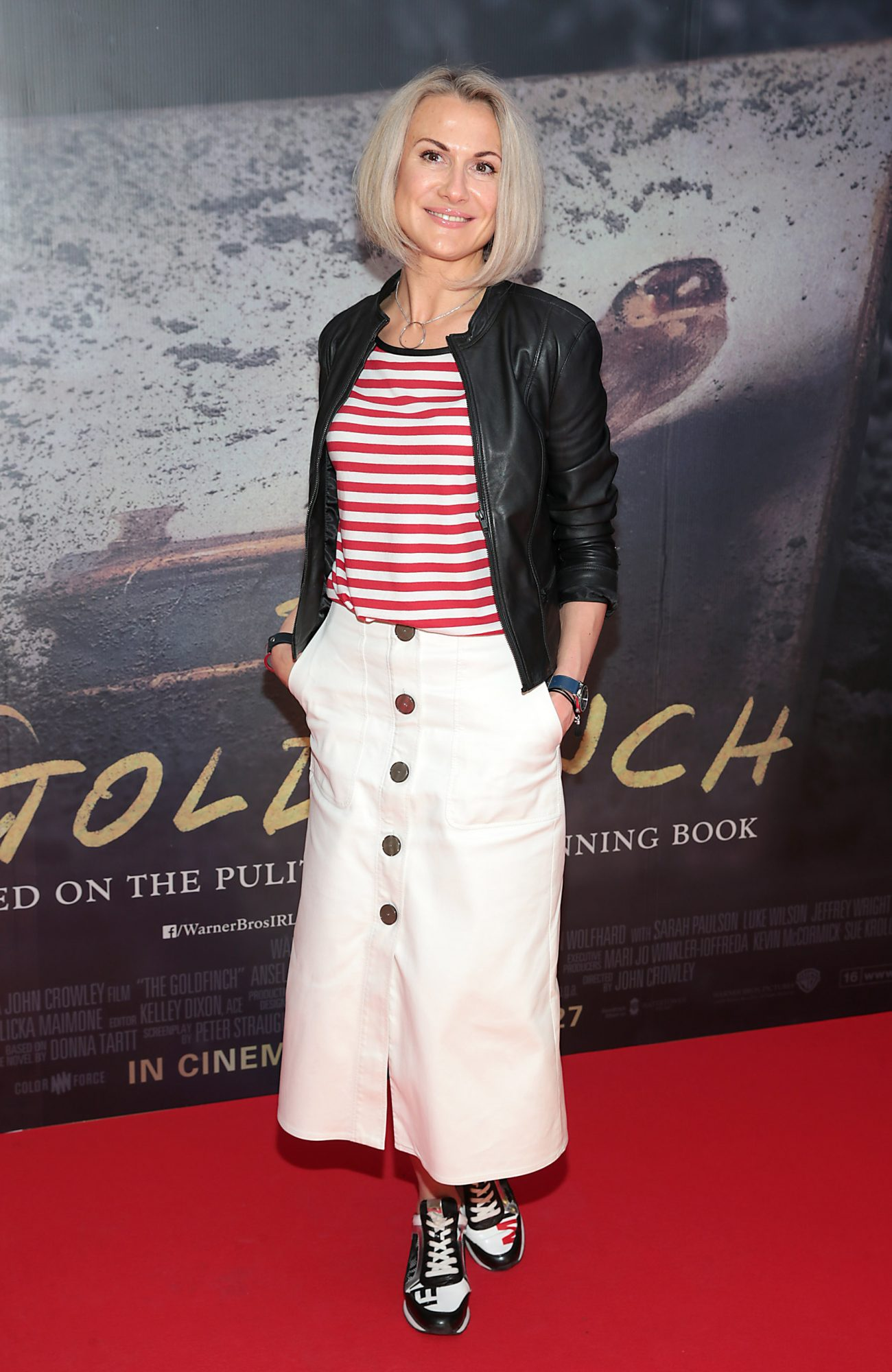 Nelly Herbut pictured at the Irish Premiere screening of The Goldfinch at the Lighthouse Cinema, Dublin.  Picture: Brian McEvoy.