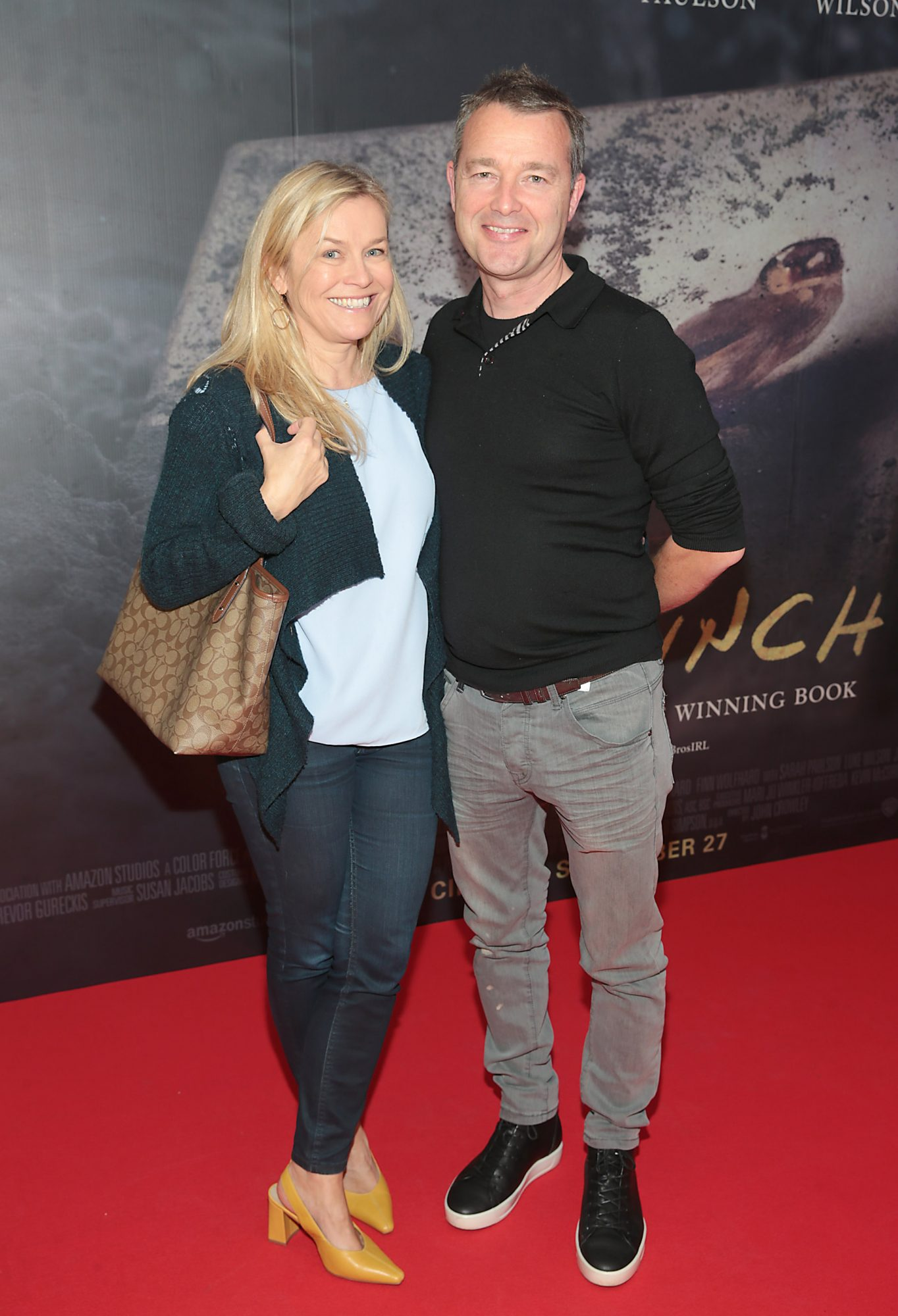 Ann Wall and Brian Wall pictured at the Irish Premiere screening of The Goldfinch at the Lighthouse Cinema, Dublin.  Picture: Brian McEvoy.