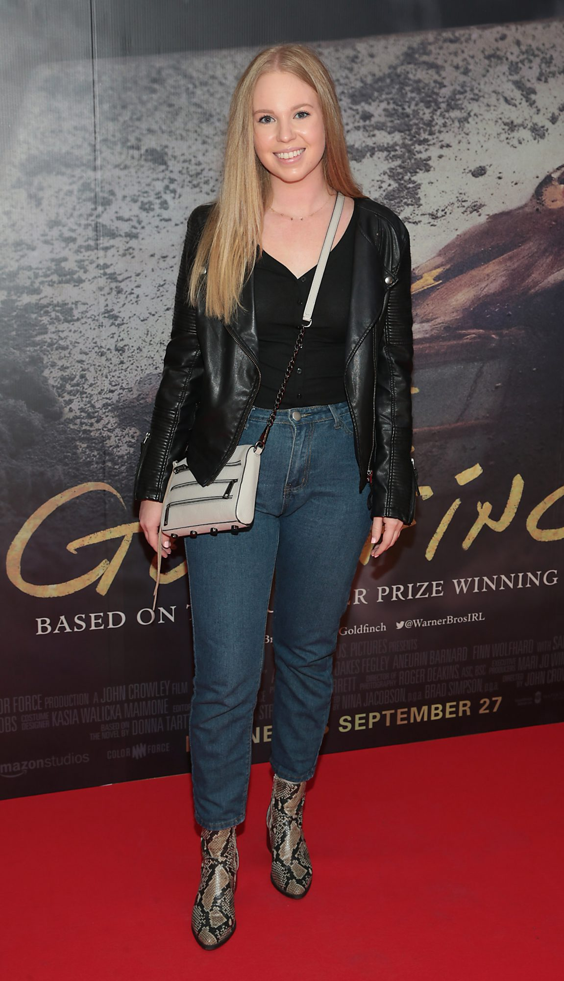 Erica Browne pictured at the Irish Premiere screening of The Goldfinch at the Lighthouse Cinema, Dublin.  Picture: Brian McEvoy.
