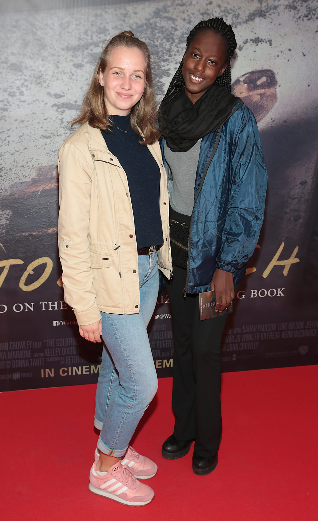 Maria Reter and Habi Ba pictured at the Irish Premiere screening of The Goldfinch at the Lighthouse Cinema, Dublin.  Picture: Brian McEvoy.