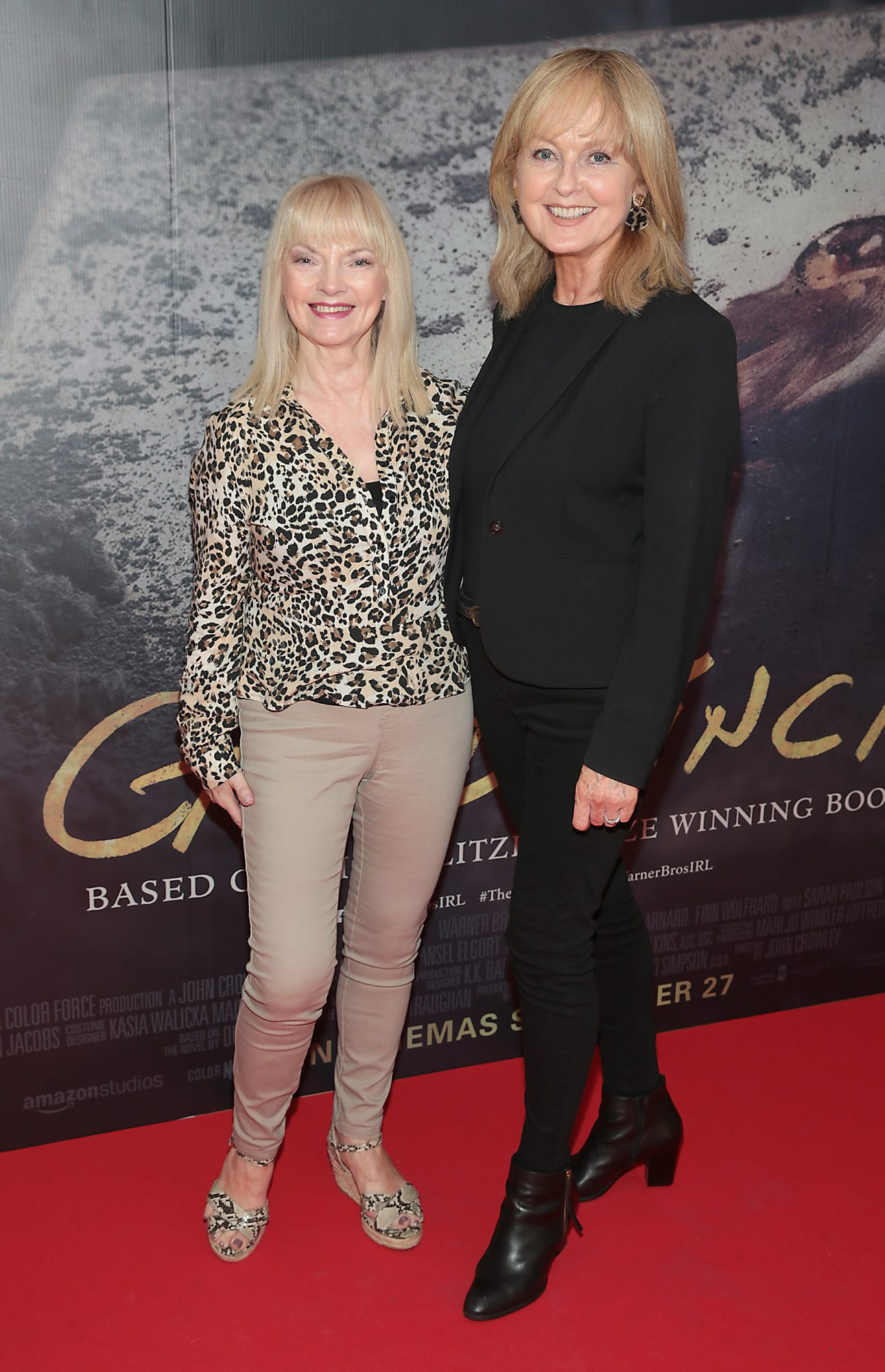 Freda King and Bernie Fitzgerald pictured at the Irish Premiere screening of The Goldfinch at the Lighthouse Cinema, Dublin.  Picture: Brian McEvoy.