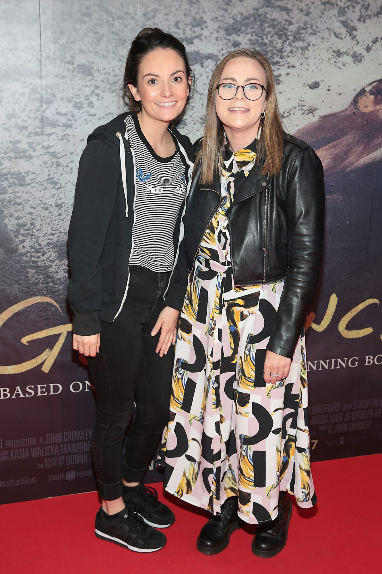 Jackie Morrin and Jamie Paisley pictured at the Irish Premiere screening of The Goldfinch at the Lighthouse Cinema, Dublin.  Picture: Brian McEvoy.