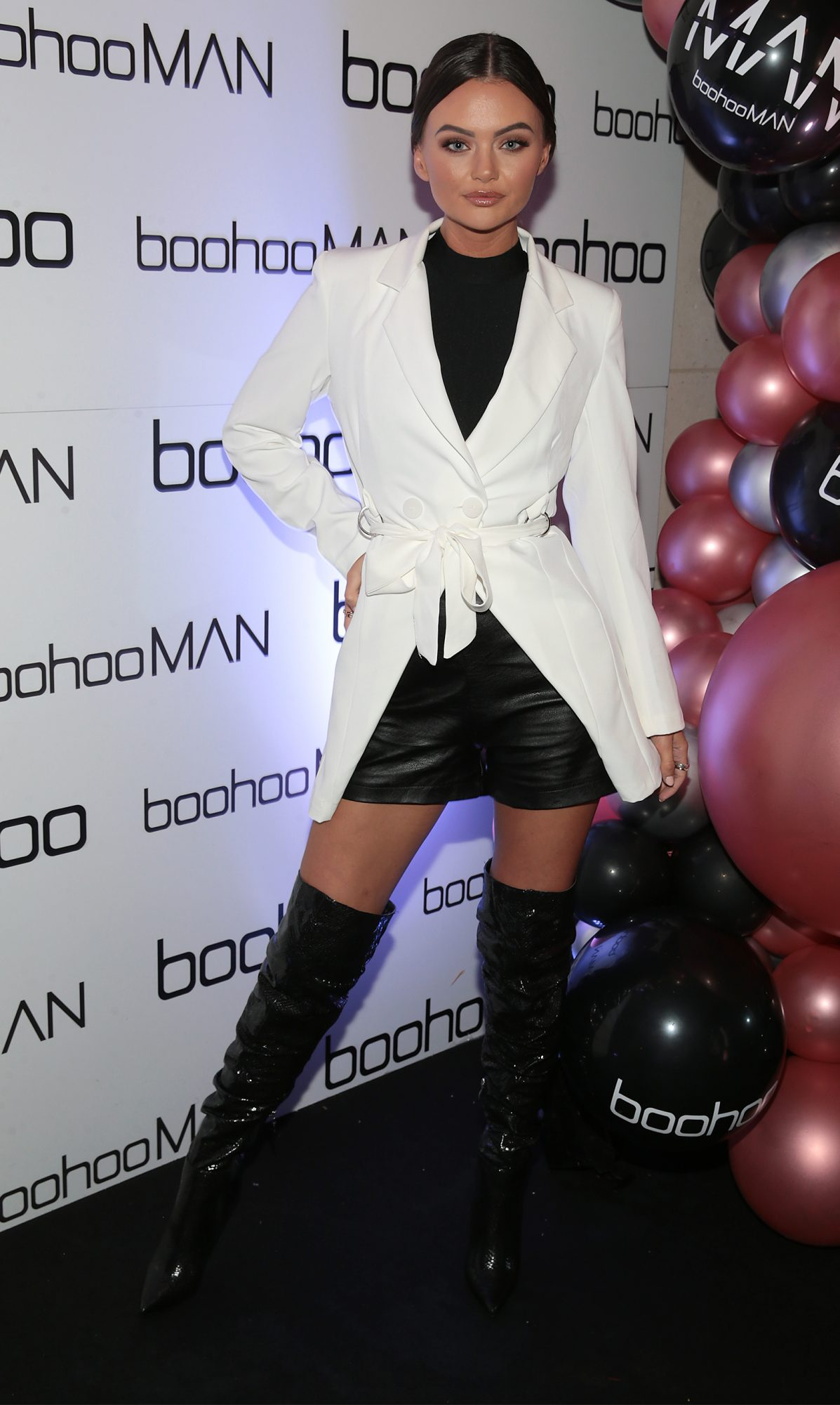 Love Island star Kendall-Rae Knight at the Boohoo and BoohooMAN Ambassador Party in The Devlin Hotel, Ranelagh.  Picture: Brian McEvoy