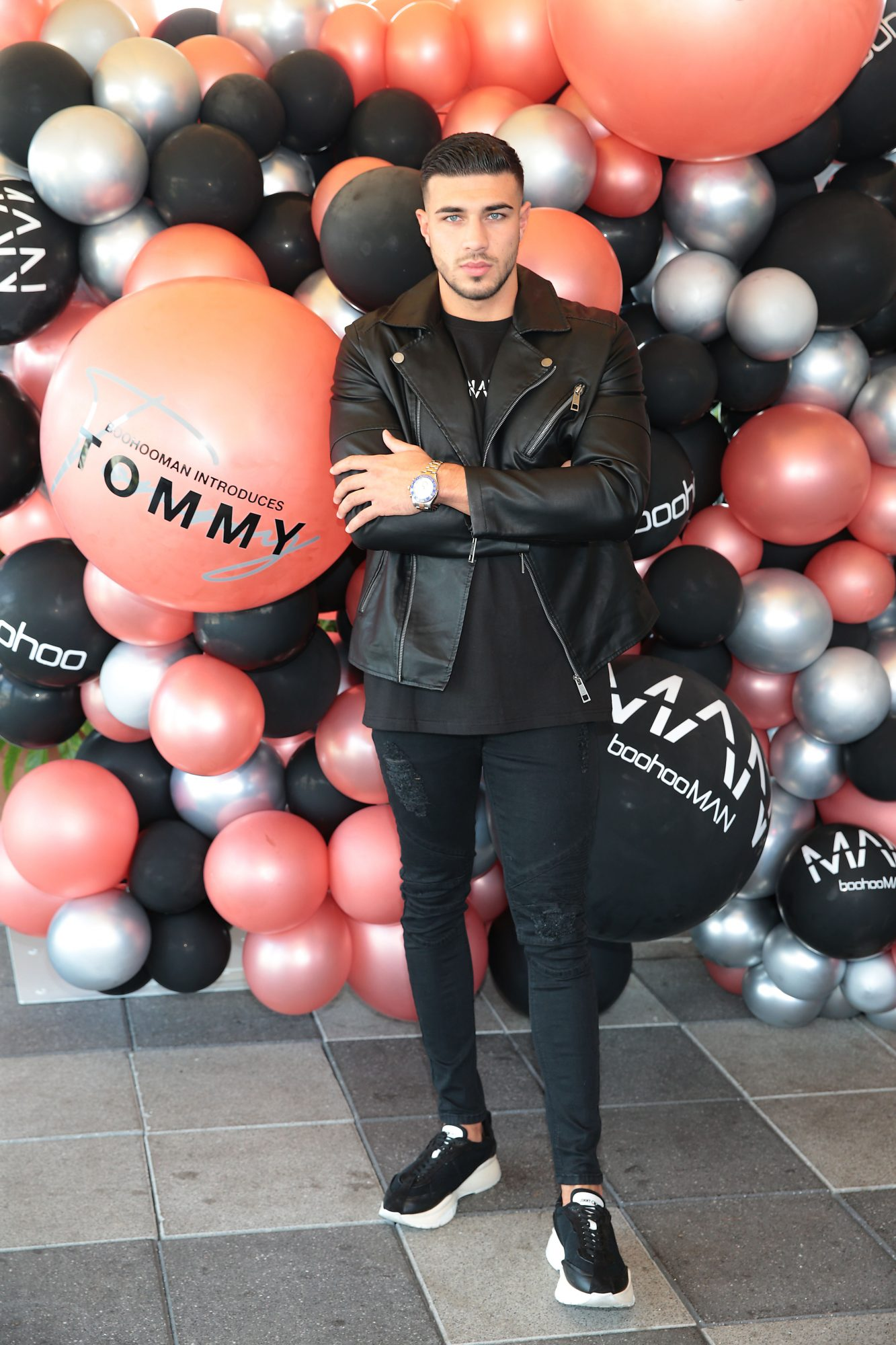Tommy Fury pictured today aheadof the Boohoo and BoohooMAN Ambassador Party in The Devlin Hotel Ranelagh.  Pic Brian McEvoy