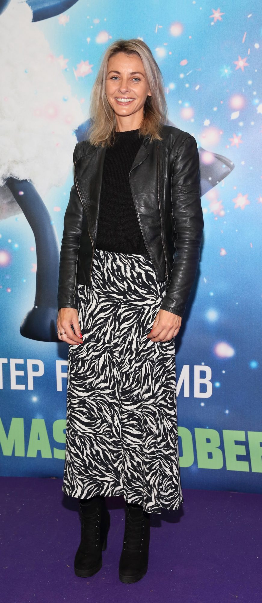 Pauline Moran  at the special preview screening of Shaun the Sheep at the Odeon Cinema In Point Square, Dublin.  Pic: Brian McEvoy Photography