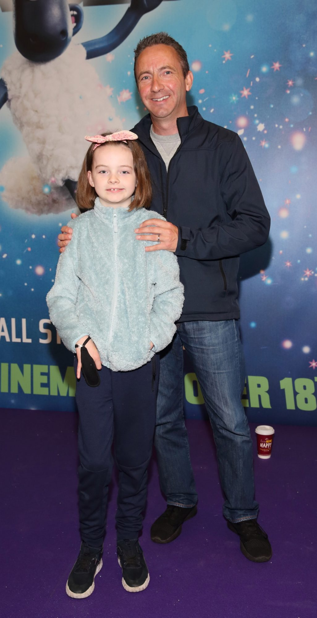Eve Dowling and Neil Dowling at the special preview screening of Shaun the Sheep at the Odeon Cinema In Point Square, Dublin.  Pic: Brian McEvoy Photography