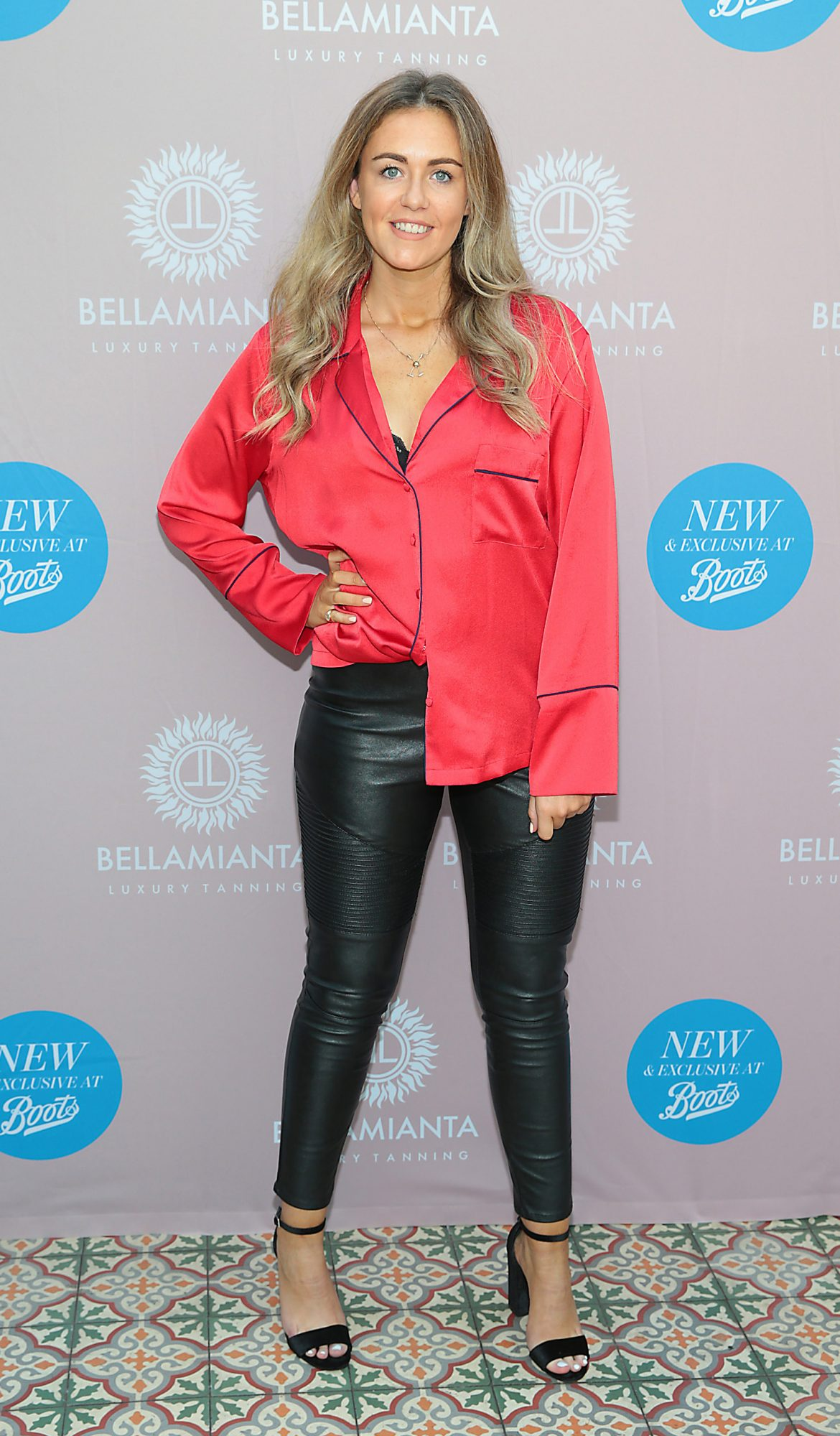 Sersh Meenaghan at the Bellamianta Tan Glow Gorgeous Gift Set launch with Boots at House, Dublin.   Pic: Brian McEvoy.