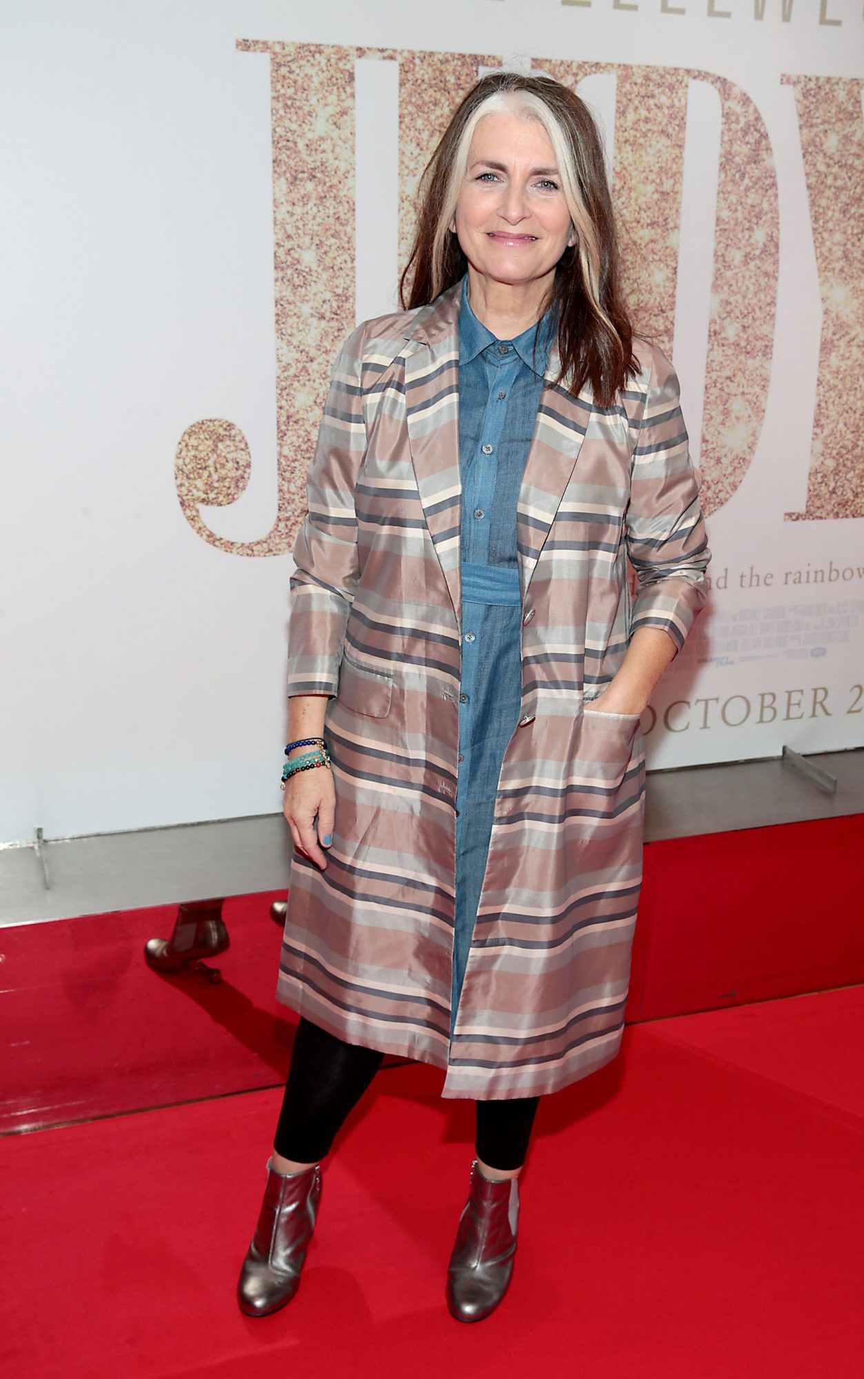 Cathy O Connor pictured at the Irish Premiere of Judy at the Lighthouse Cinema, Dublin.  Pic: Brian McEvoy.