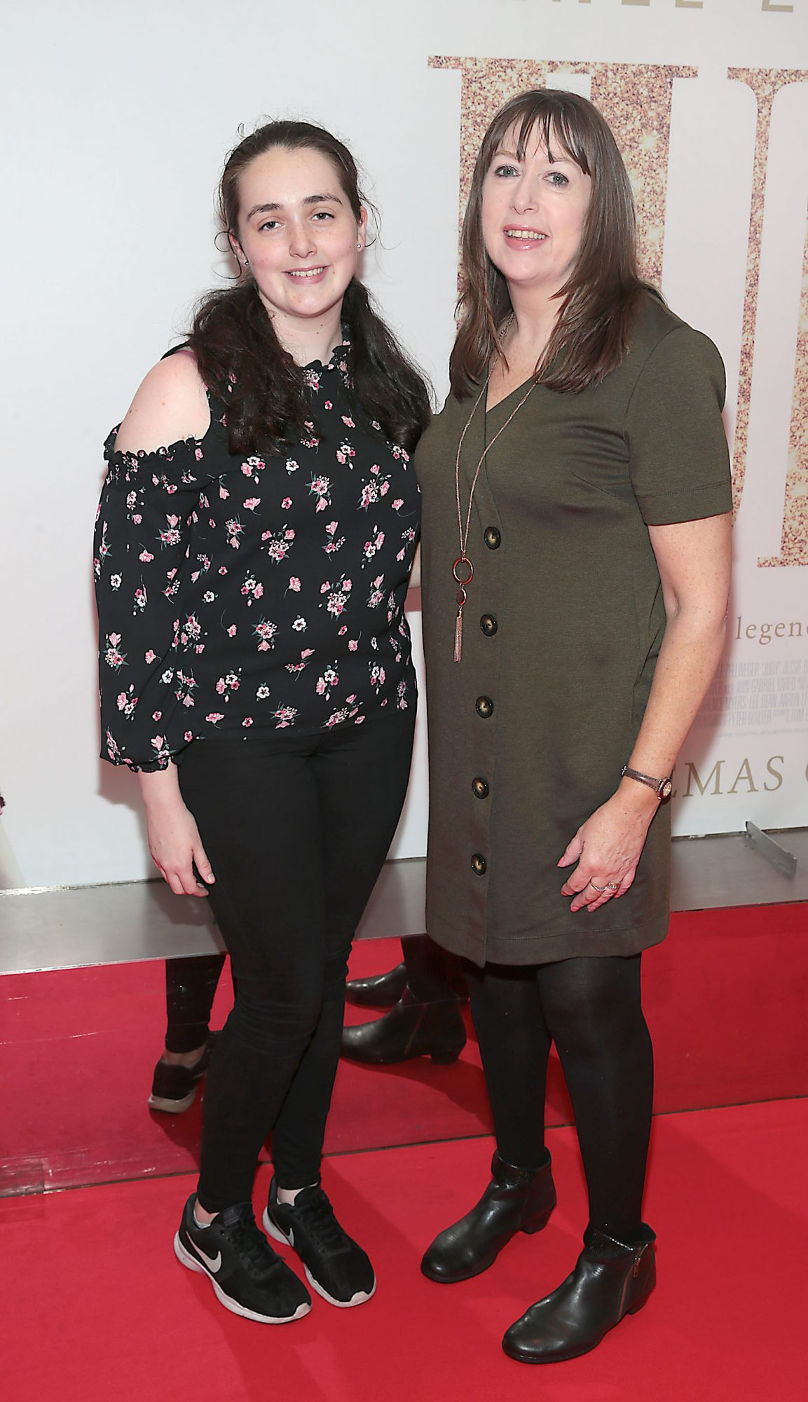 Niamh Kerslake and Deirdre Kerslake pictured at the Irish Premiere of Judy at the Lighthouse Cinema, Dublin.  Pic: Brian McEvoy.
