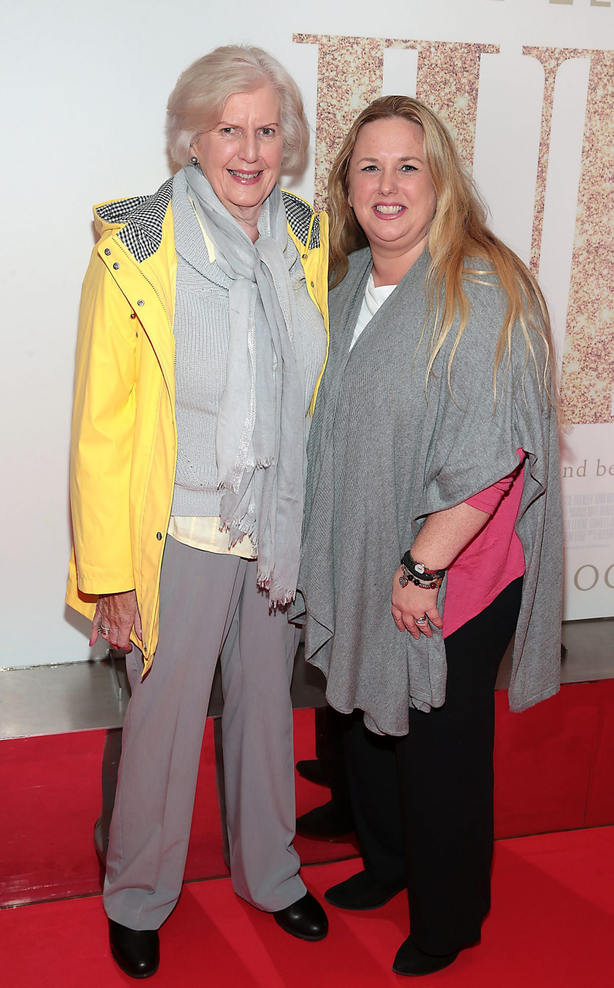Kathryn Reynolds and Maria Panza pictured at the Irish Premiere of Judy at the Lighthouse Cinema, Dublin.  Pic: Brian McEvoy.