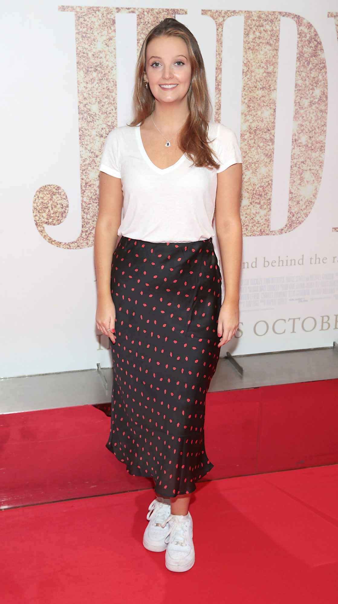 Emma McEvoy pictured at the Irish Premiere of Judy at the Lighthouse Cinema, Dublin.  Pic: Brian McEvoy.