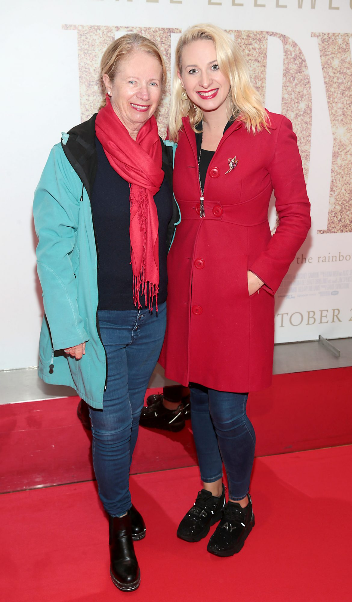 Anne Marie Barton and Emily Barton pictured at the Irish Premiere of Judy at the Lighthouse Cinema, Dublin.  Pic: Brian McEvoy.