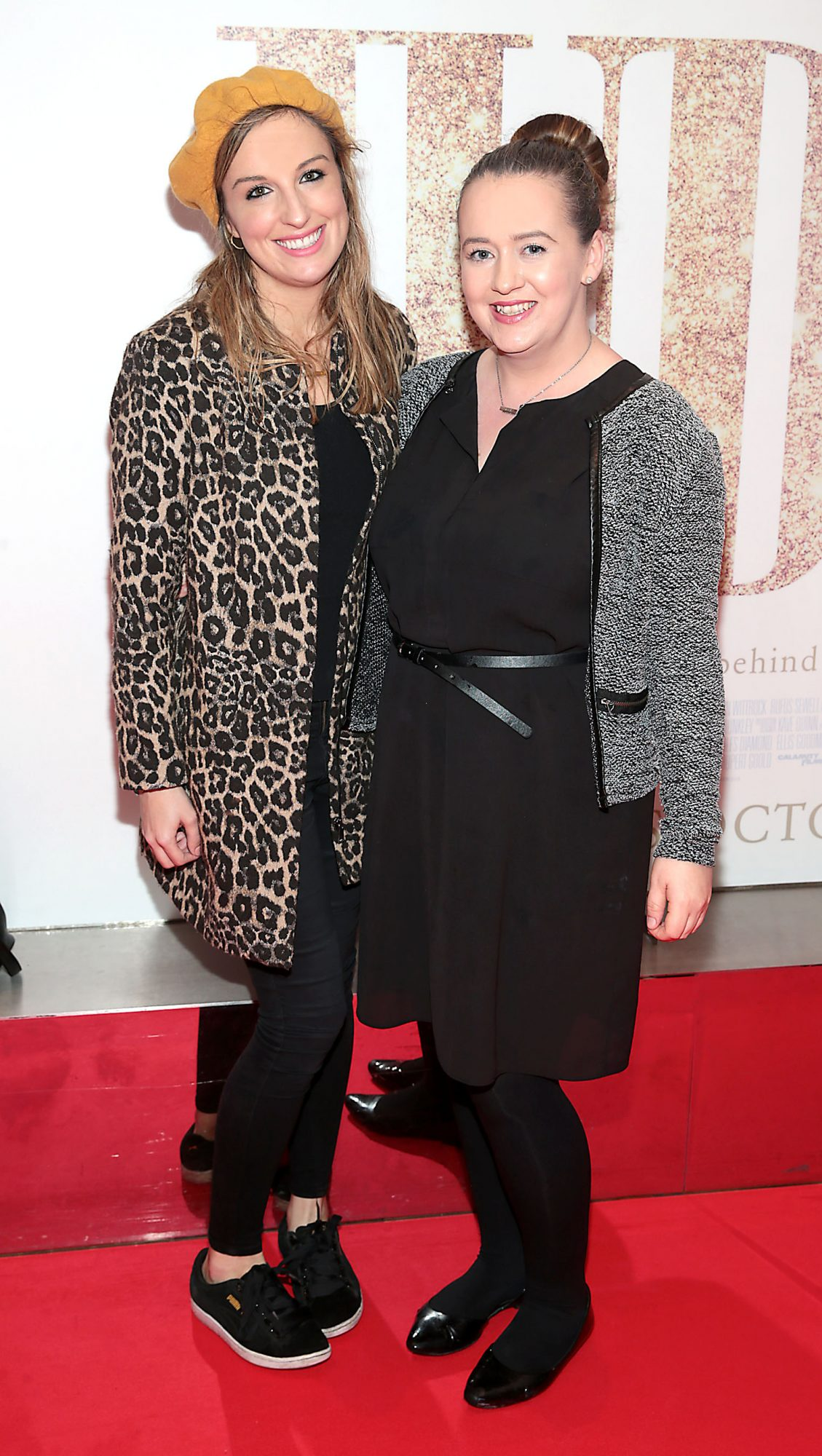 Grainne Carberry and Elaine Carey pictured at the Irish Premiere of Judy at the Lighthouse Cinema, Dublin.  Pic: Brian McEvoy.