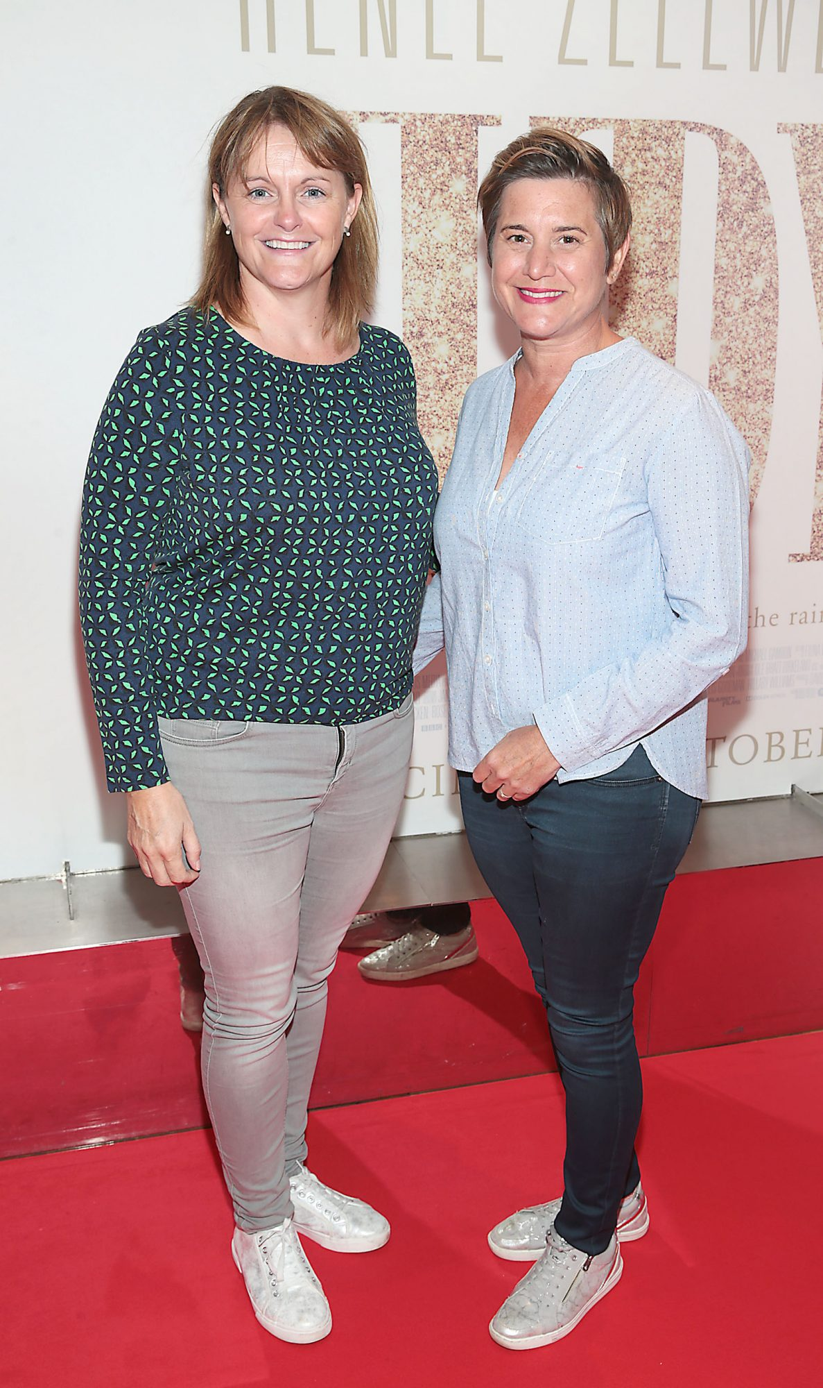 Grainne Smith and Jill Hendy pictured at the Irish Premiere of Judy at the Lighthouse Cinema, Dublin.  Pic: Brian McEvoy.