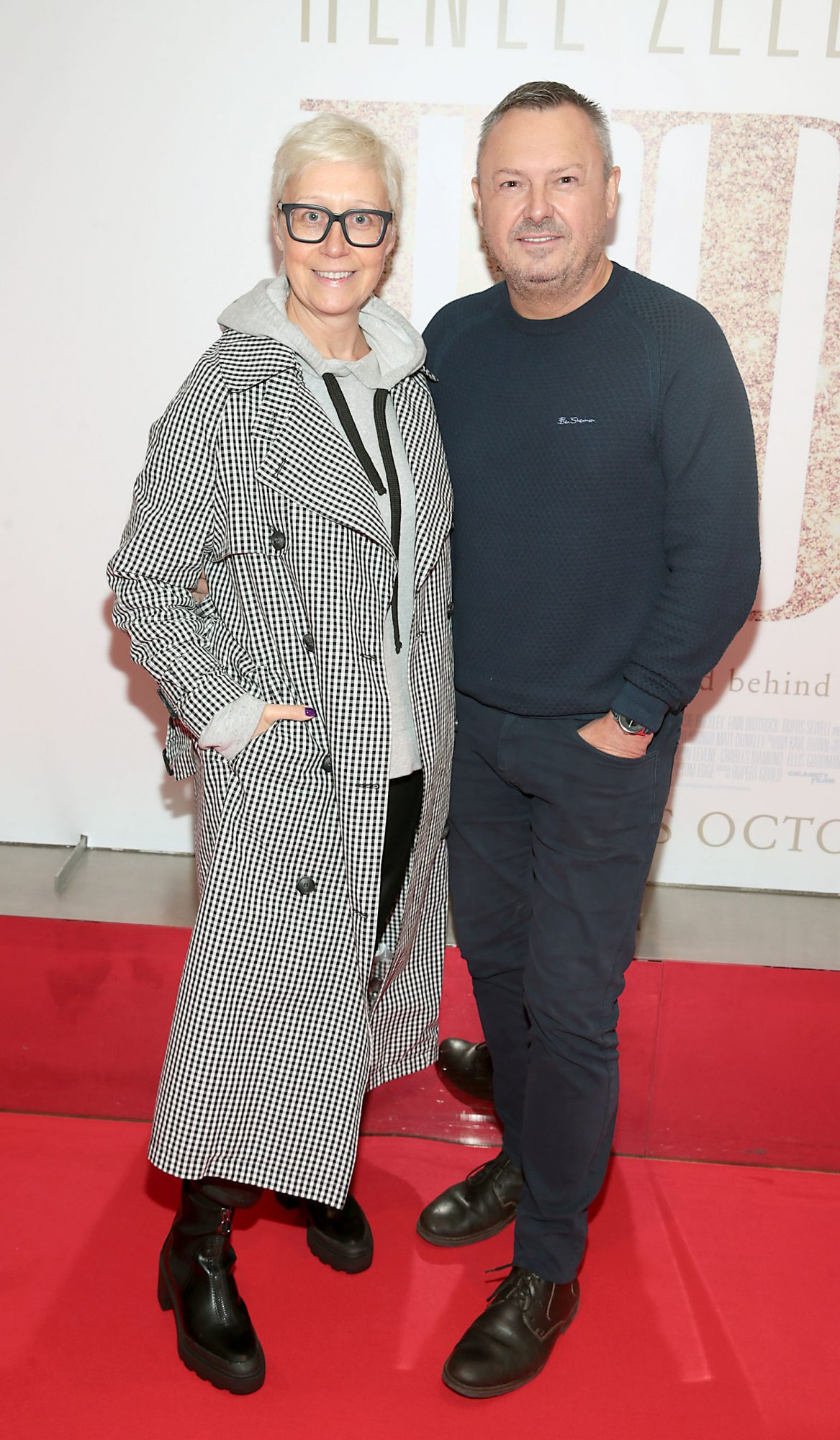 Sonja Mohlich and Ed Finn  pictured at the Irish Premiere of Judy at the Lighthouse Cinema, Dublin.  Pic: Brian McEvoy.