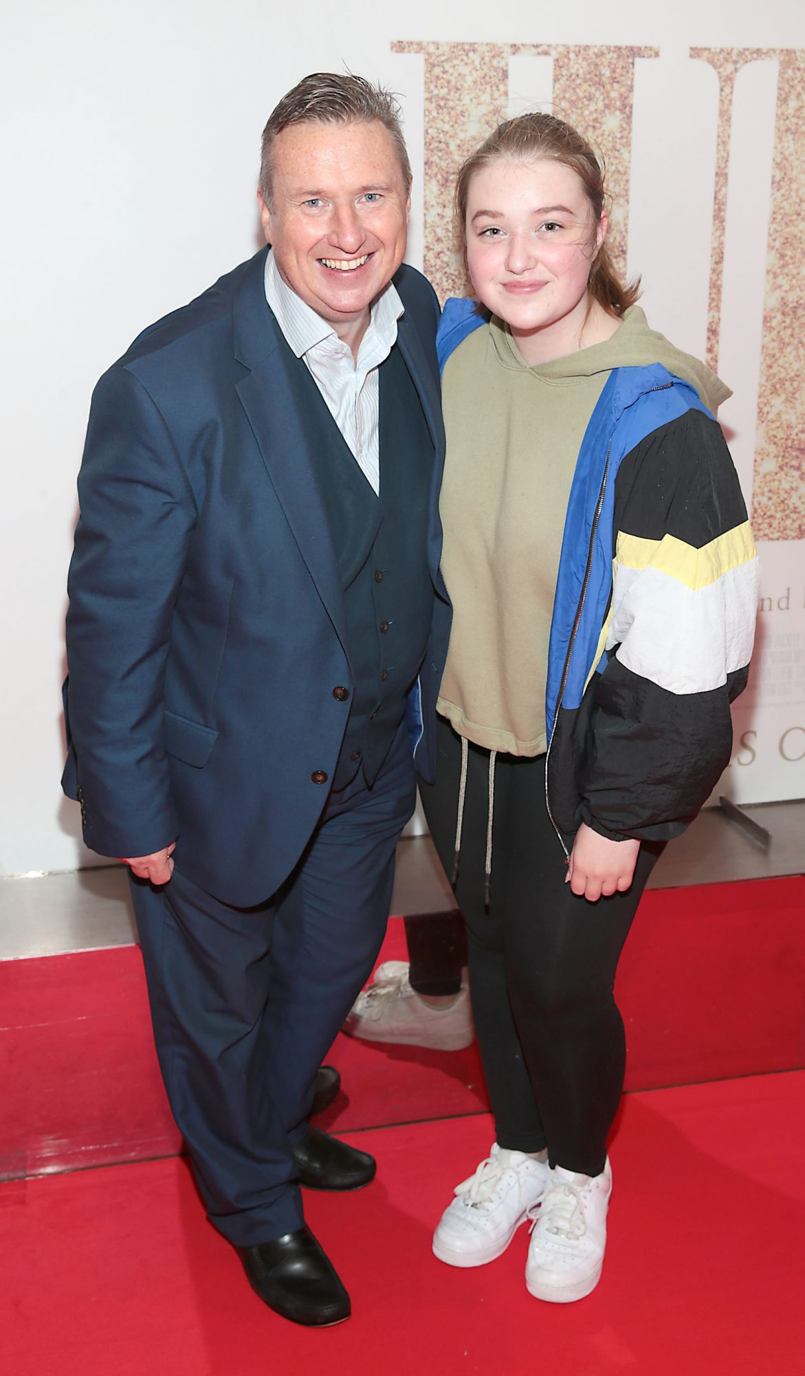 Shay Byrne and Holly Byrne pictured at the Irish Premiere of Judy at the Lighthouse Cinema, Dublin.  Pic: Brian McEvoy.
