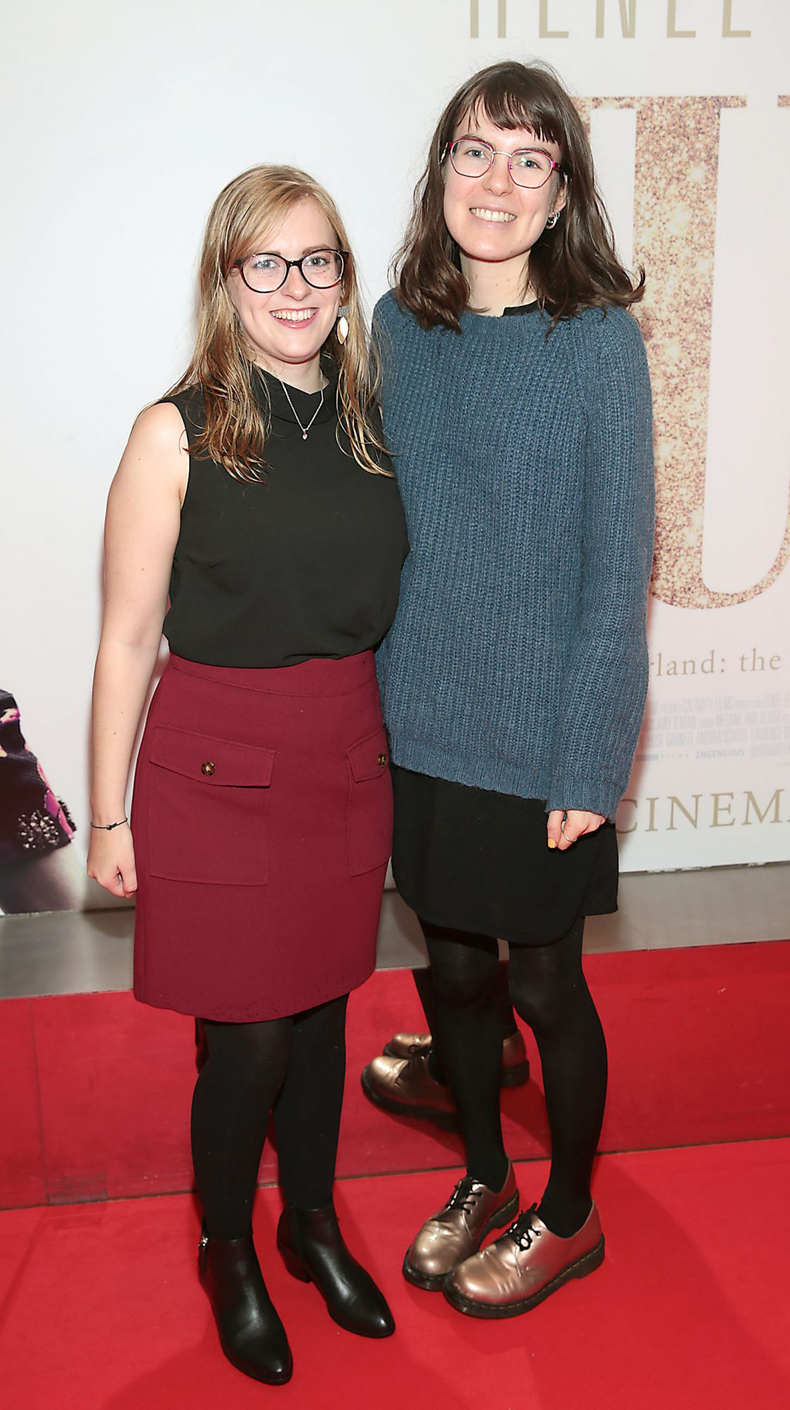 Gillian Kiely and Deirbhile Brennan pictured at the Irish Premiere of Judy at the Lighthouse Cinema, Dublin.  Pic: Brian McEvoy.