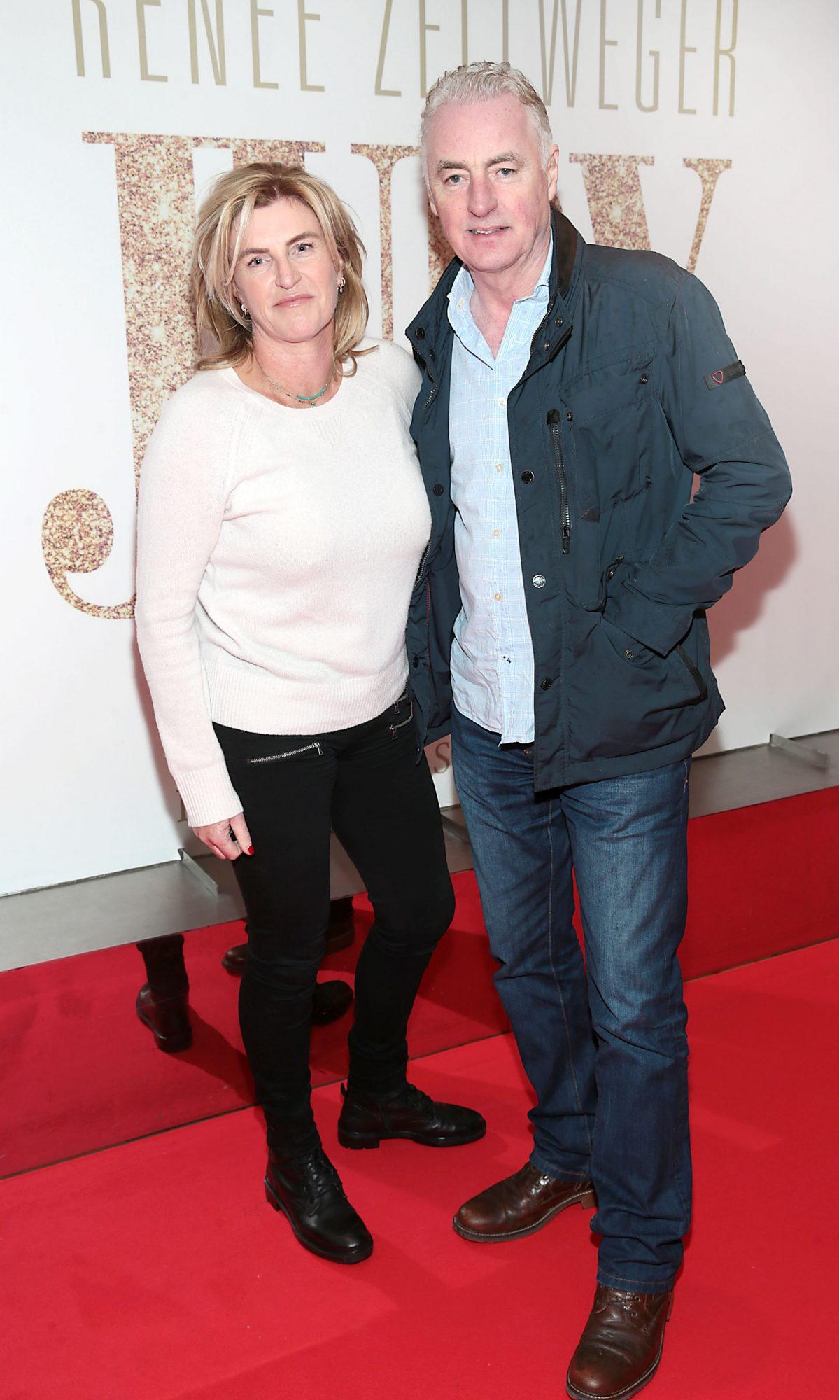Rosie dawson Campbell and Dave Fanning pictured at the Irish Premiere of Judy at the Lighthouse Cinema, Dublin.  Pic: Brian McEvoy.