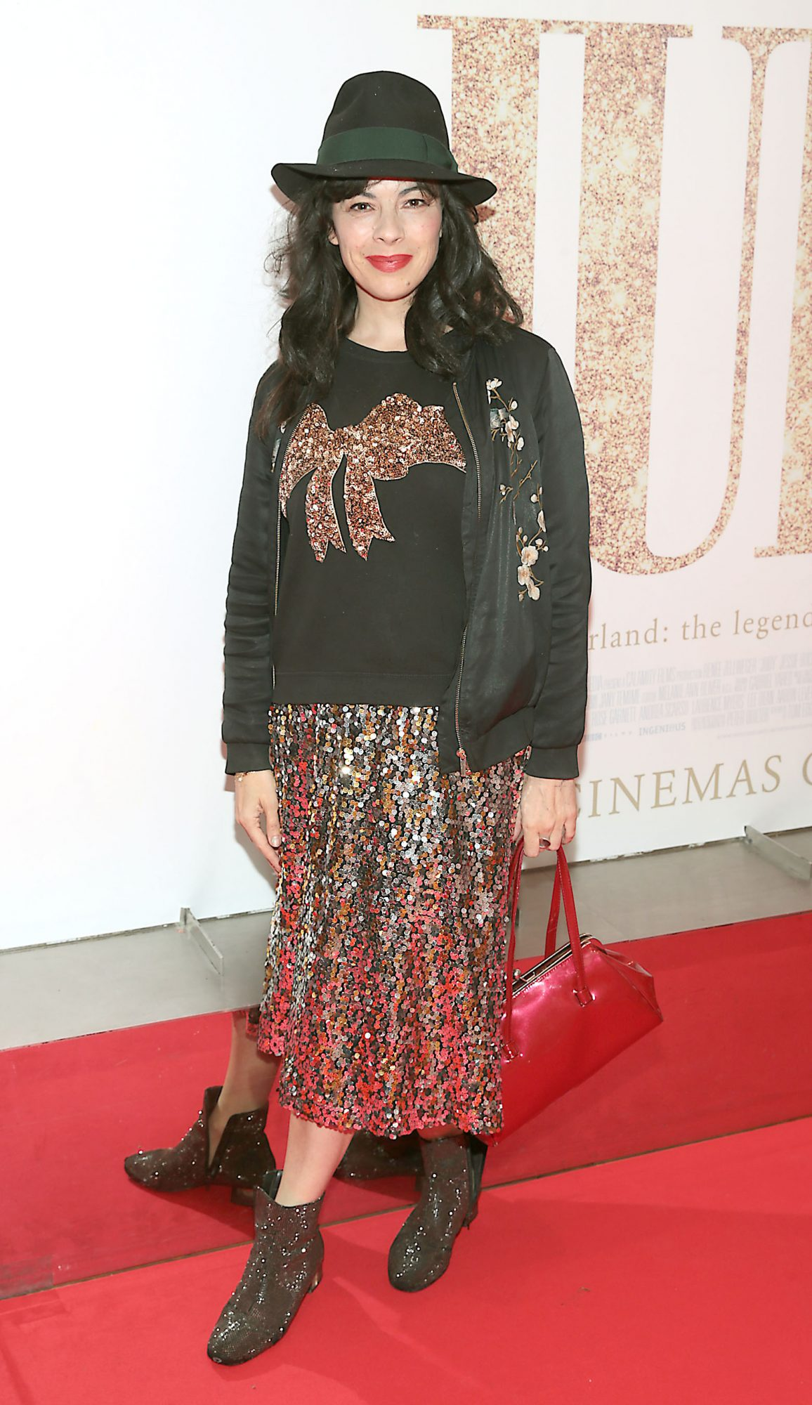 Camille O Sullivan pictured at the Irish Premiere of Judy at the Lighthouse Cinema, Dublin.  Pic: Brian McEvoy.