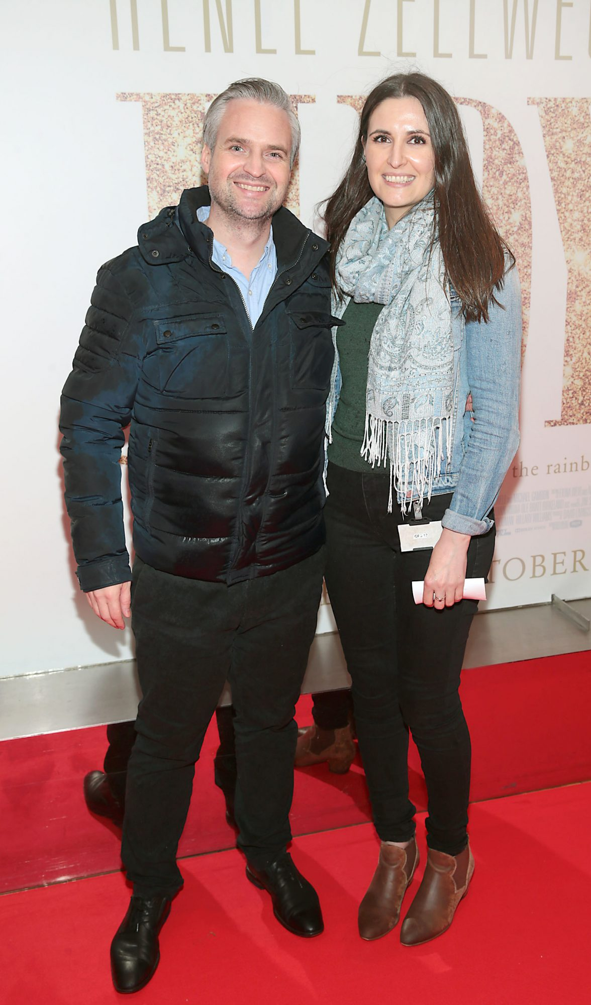 Tom Maguire and Mona Pavel  pictured at the Irish Premiere of Judy at the Lighthouse Cinema, Dublin.  Pic: Brian McEvoy.