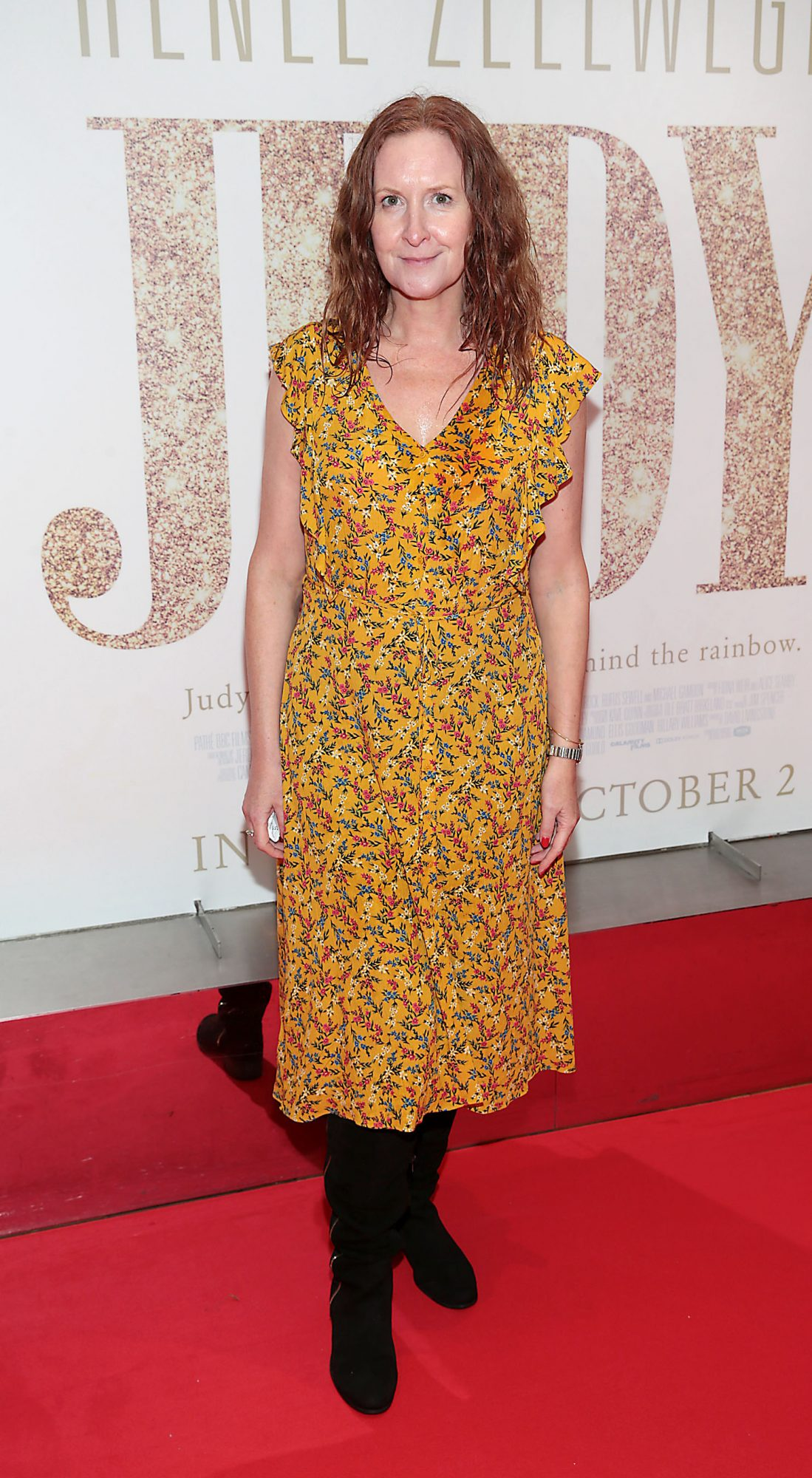 Nicola Cox pictured at the Irish Premiere of Judy at the Lighthouse Cinema, Dublin.  Pic: Brian McEvoy.