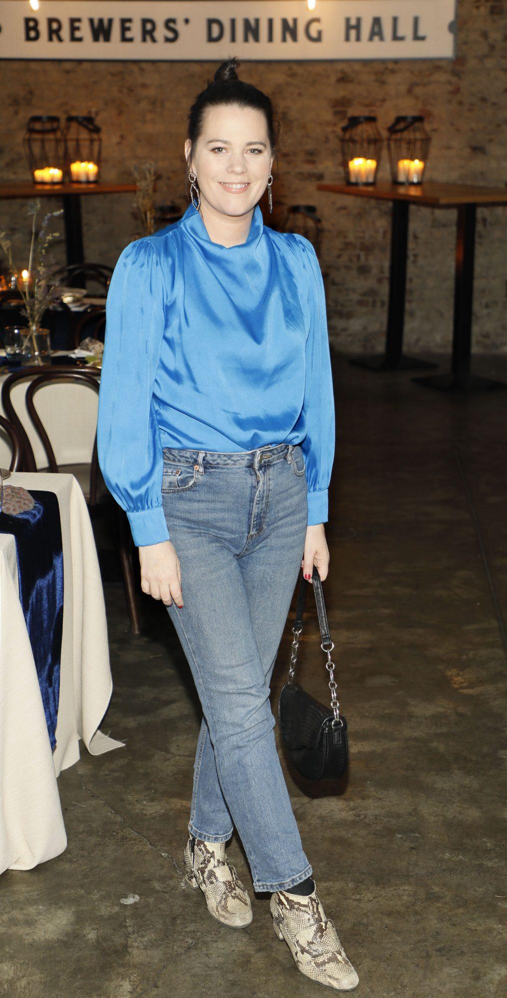 Corina Gaffey at Guinness Storehouse Seafest supper club. Photo: Kieran Harnett.
