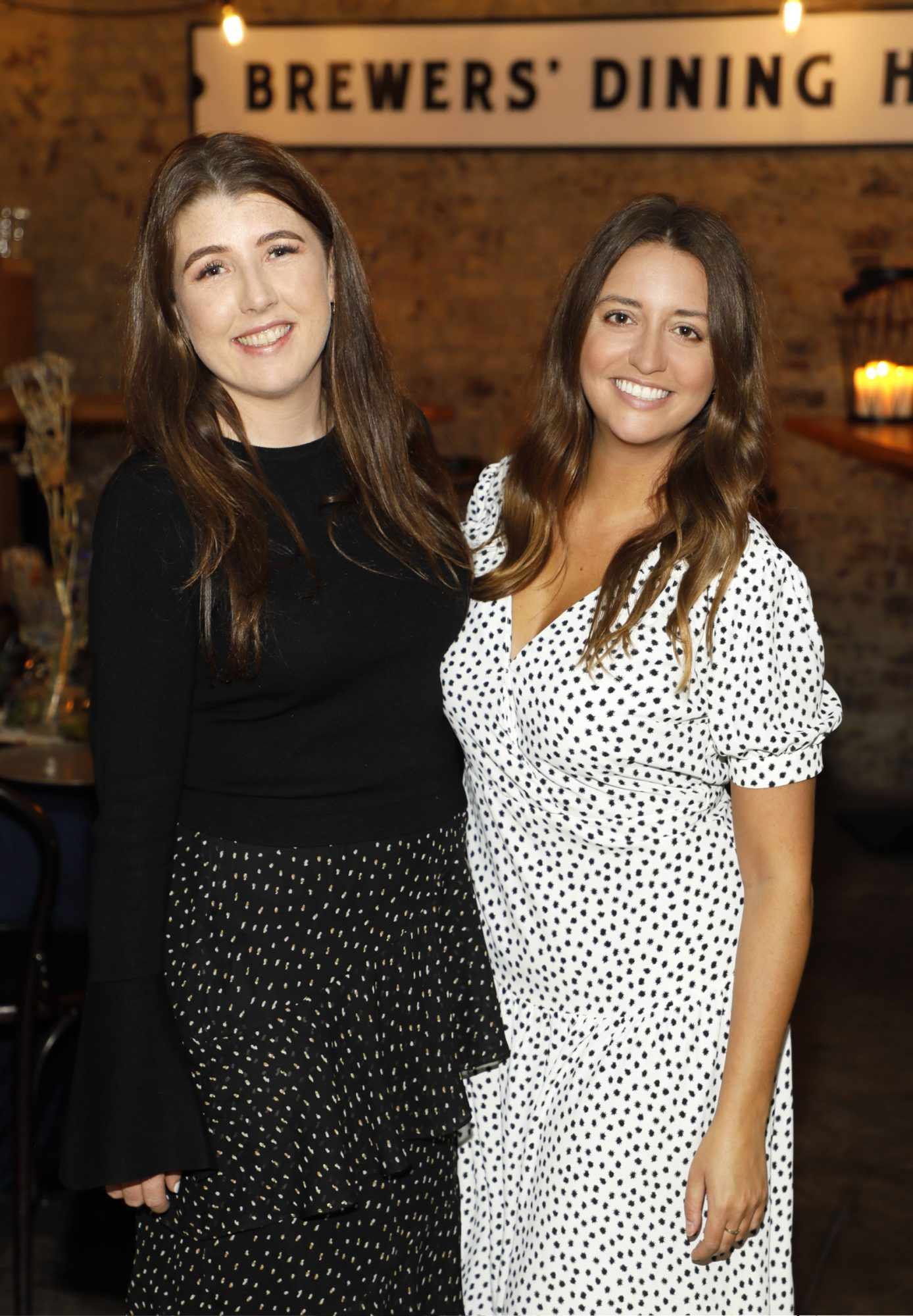 Gillian Herlihy and Jess Corcoran at Guinness Storehouse Seafest supper club. Photo: Kieran Harnett.
