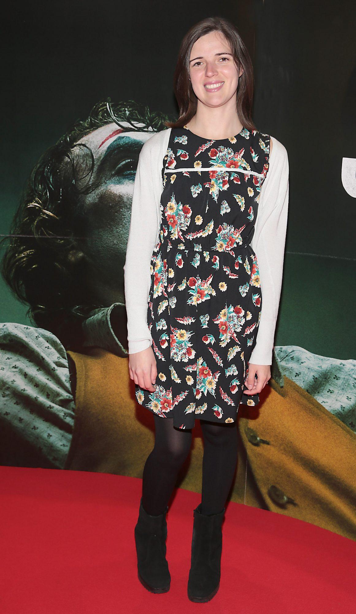 Deirdre Molumby at the Irish Premiere screening of Joker at Cineworld, Dublin. Pic: Brian McEvoy.