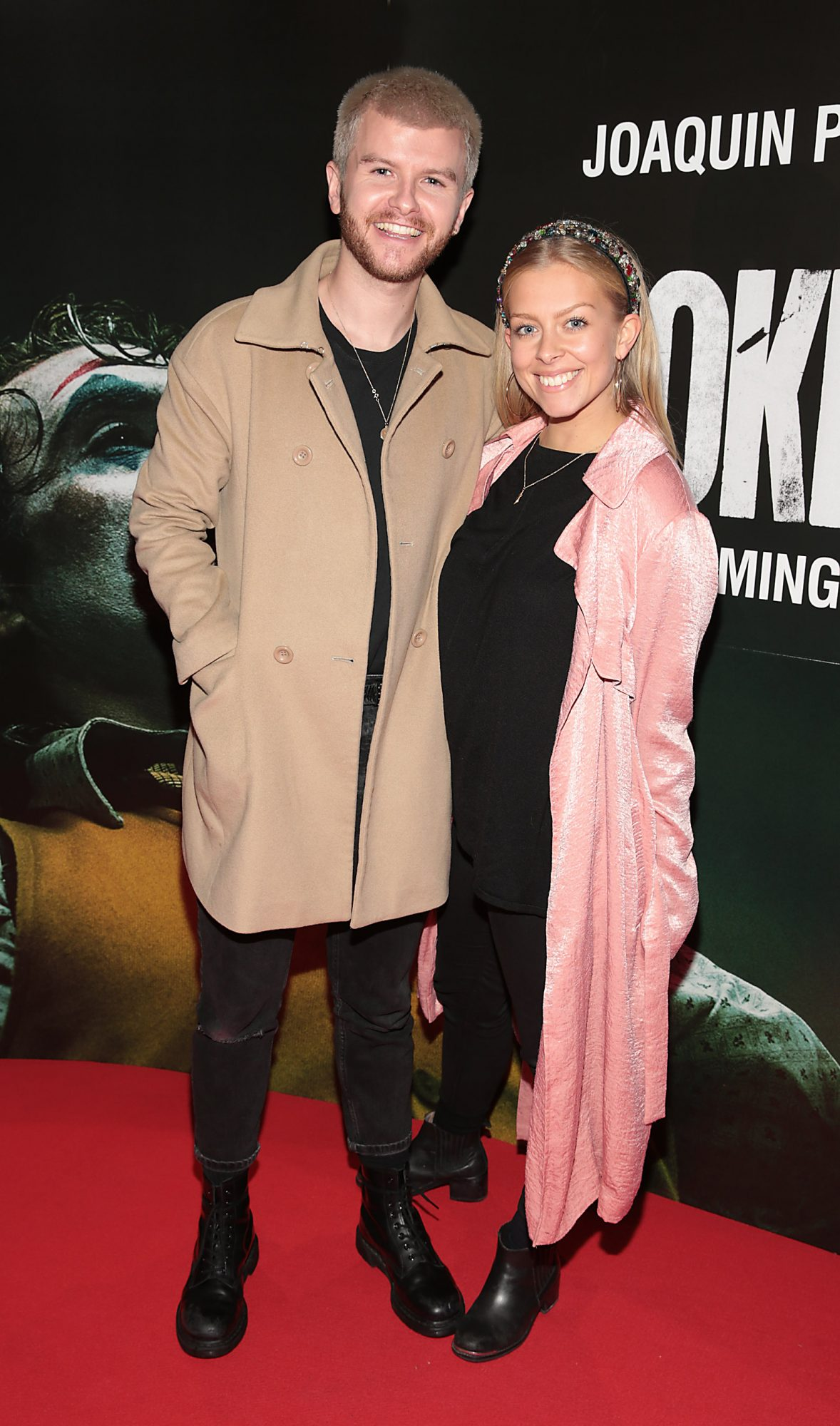 David Whelan and Ruth Devine at the Irish Premiere screening of Joker at Cineworld, Dublin. Pic: Brian McEvoy.
