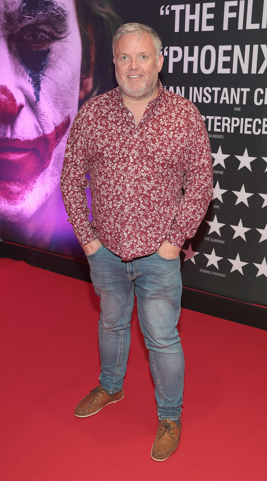 Liam Coburn at the Irish Premiere screening of Joker at Cineworld, Dublin. Pic: Brian McEvoy.