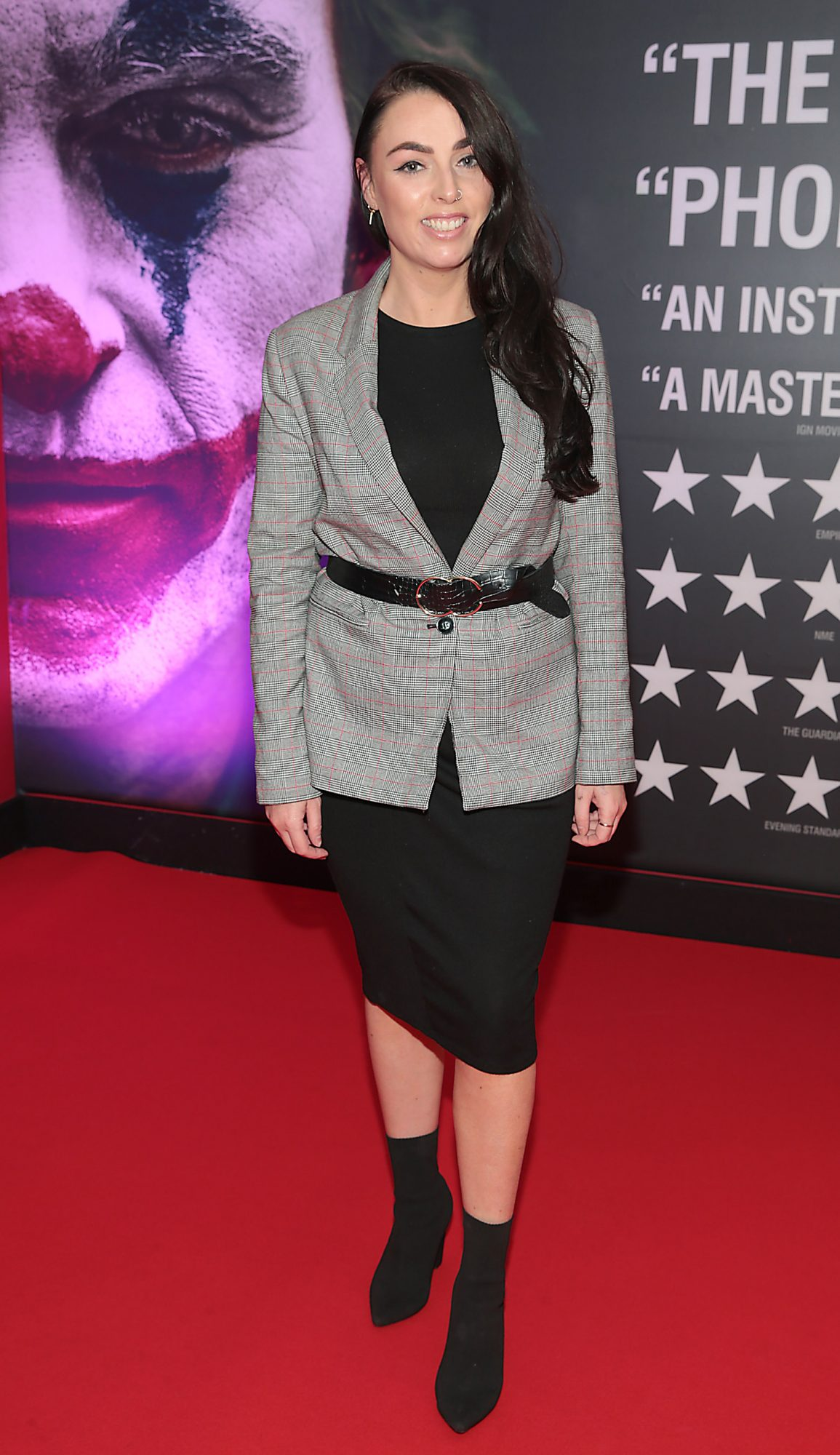 Eileen Sutton  at the Irish Premiere screening of Joker at Cineworld, Dublin. Pic: Brian McEvoy.