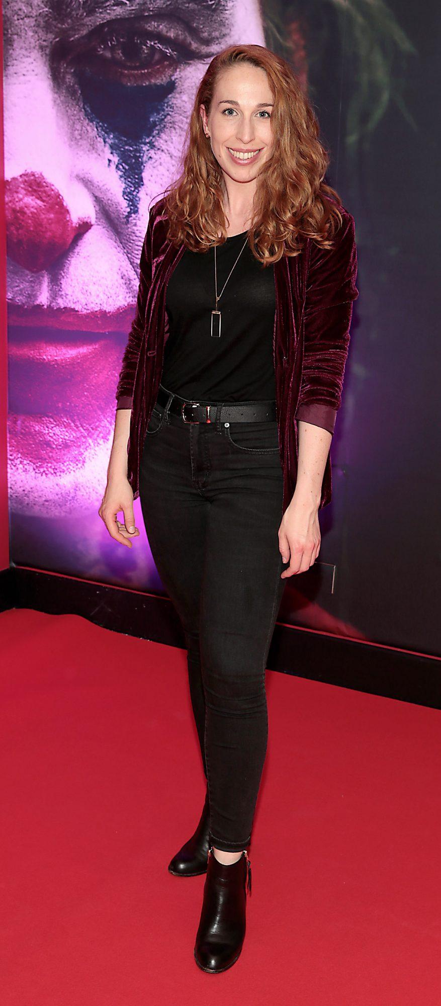 Jenny Kearns at the Irish Premiere screening of Joker at Cineworld, Dublin. Pic: Brian McEvoy.